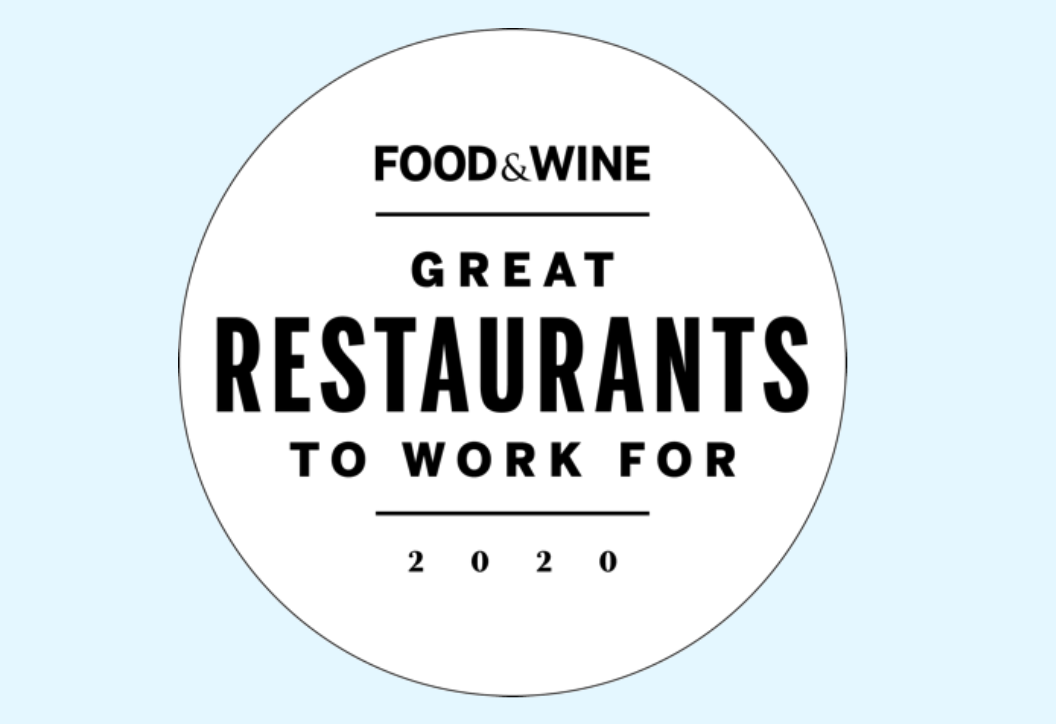 great restaurants to work for nominations