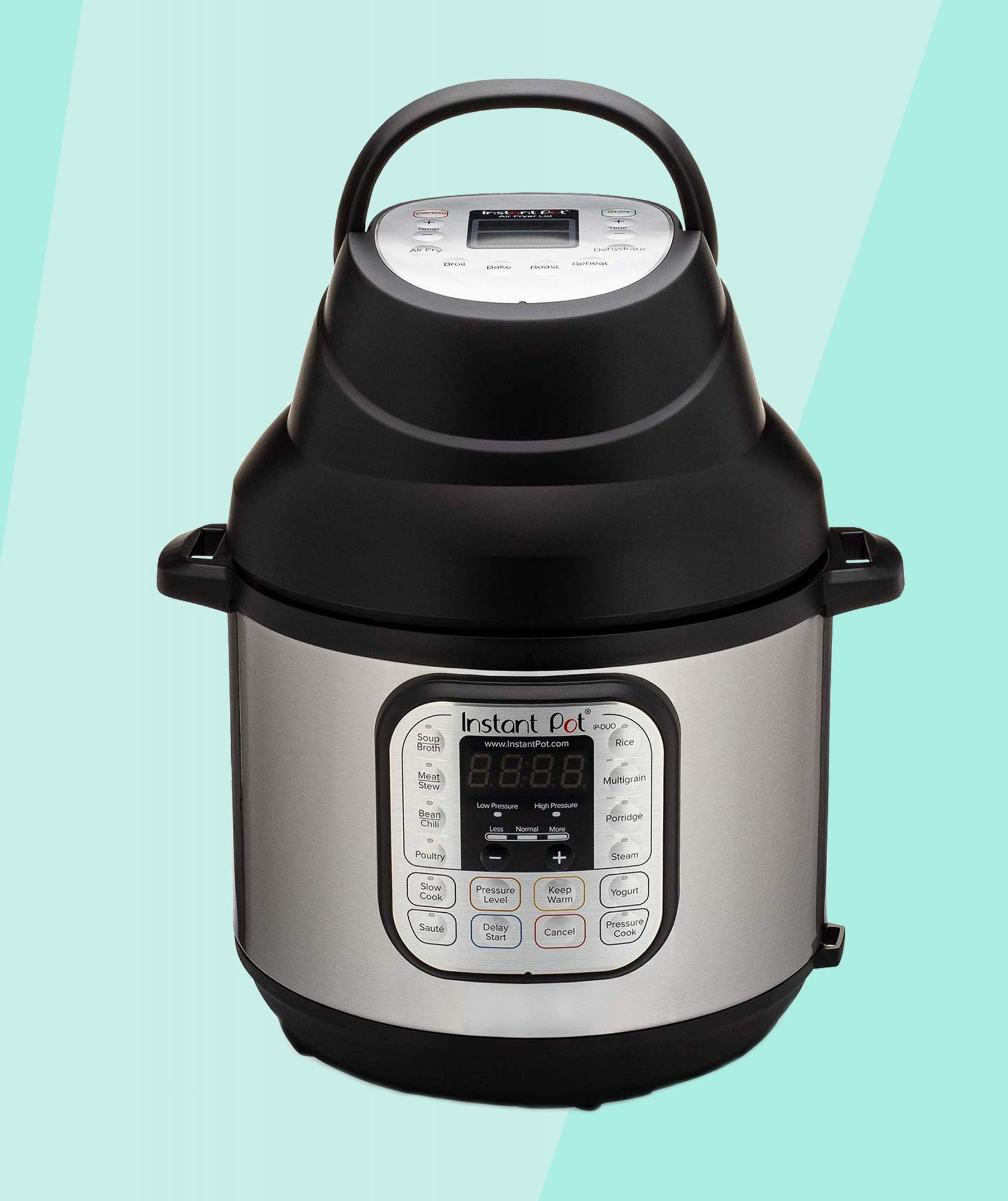 Instant Pot Released a Genius New Lid That Transforms Its Pressure Cooker Into an Air Fryer