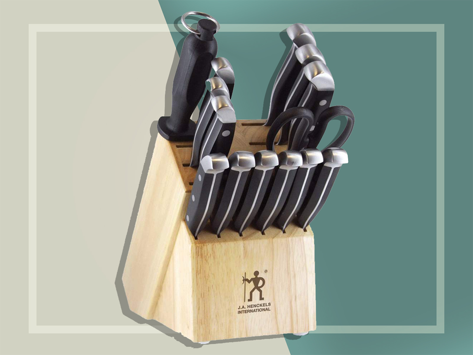 J.A. Henckels International 13550-005 Statement Knife Block Set