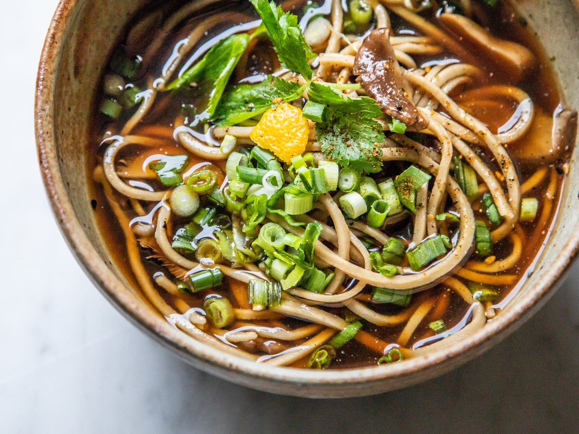 The Best Way to Make Soba Noodles