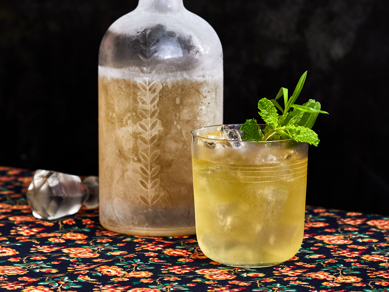 Tarragon-Mint Vodka Recipe