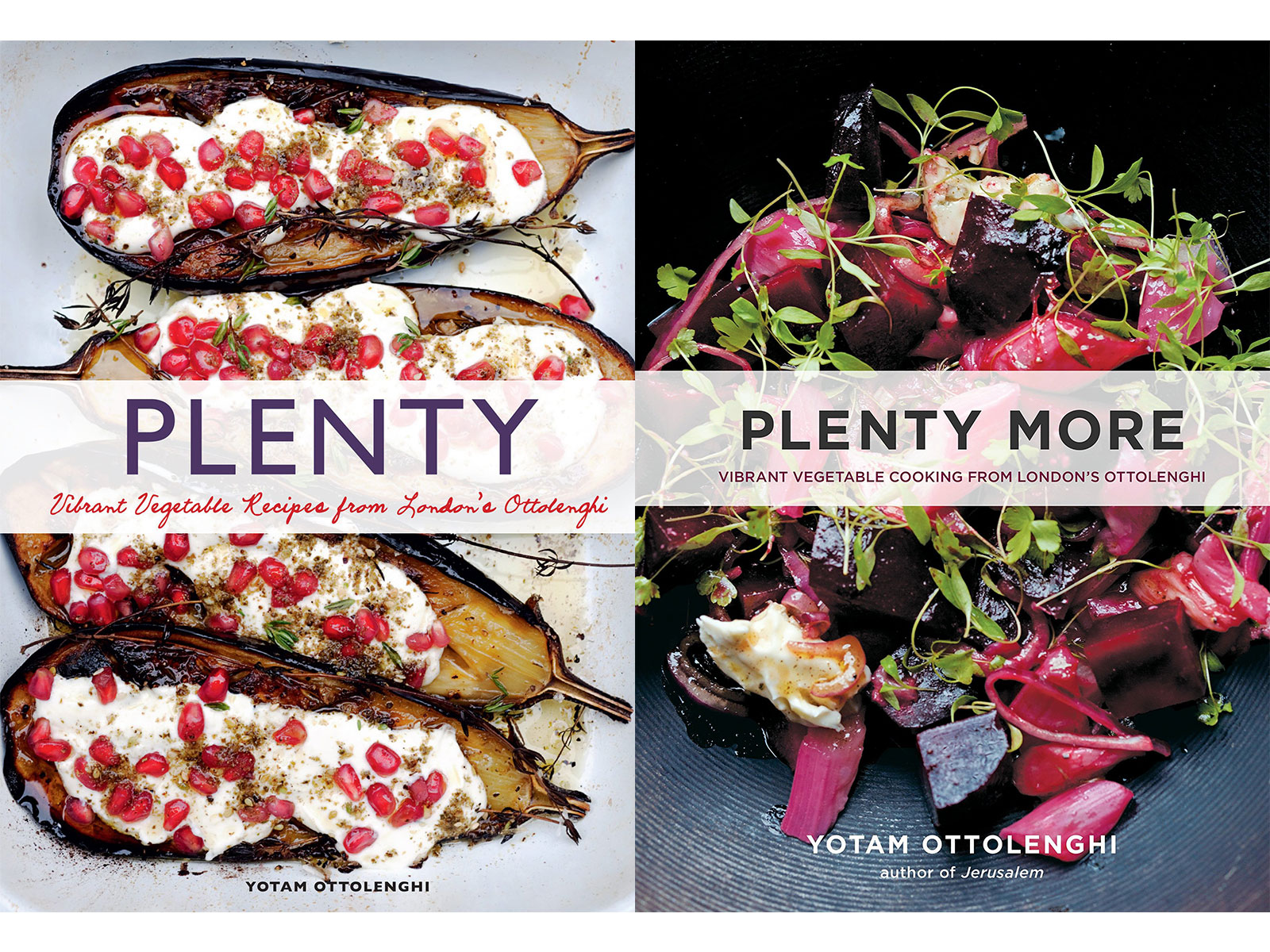 Plenty and Plenty More by Yotam Ottolenghi