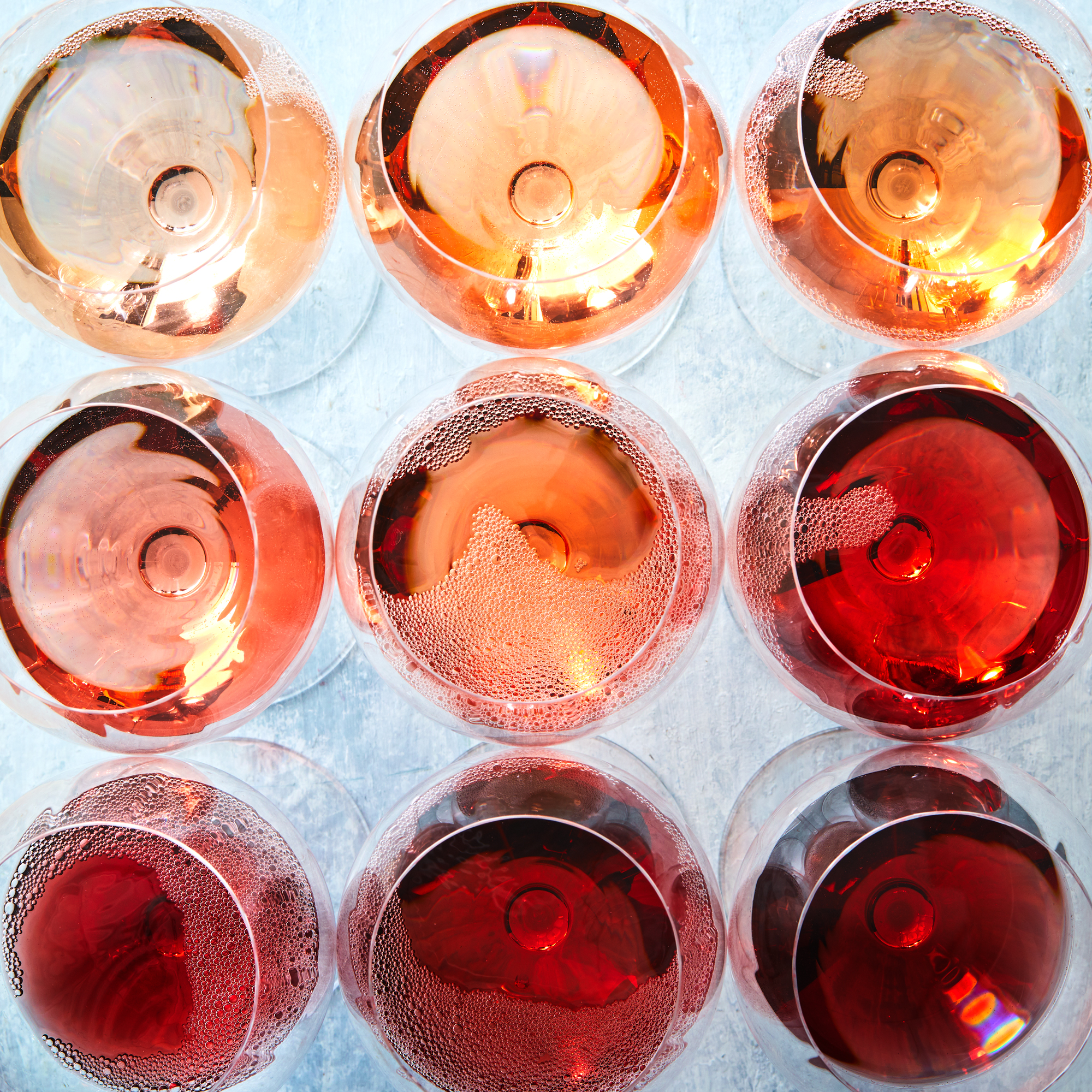 Winter Rosé Wines