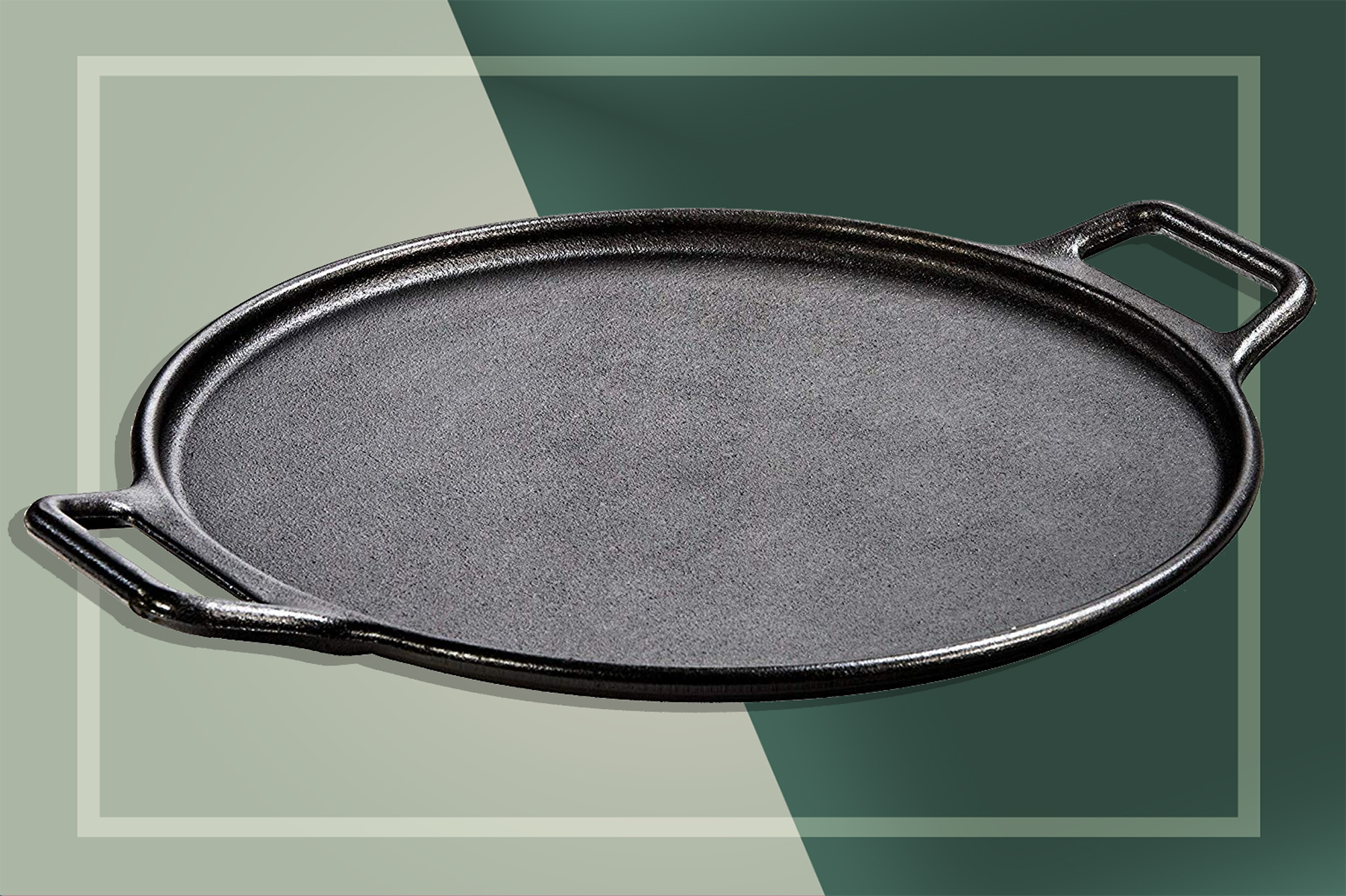 The Best Pizza Stone Is Actually This Cast Iron Pan