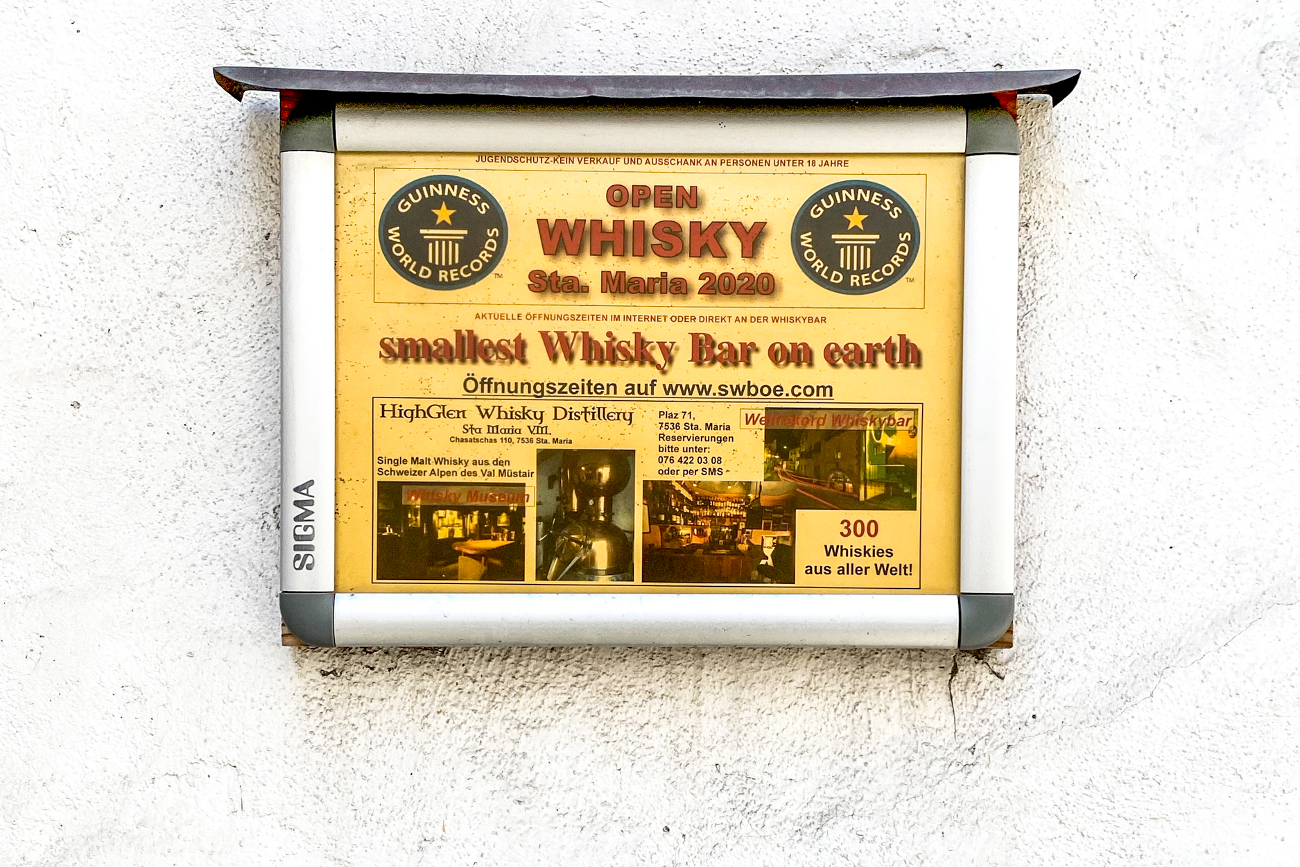 Smallest Whiskey Bar in the World