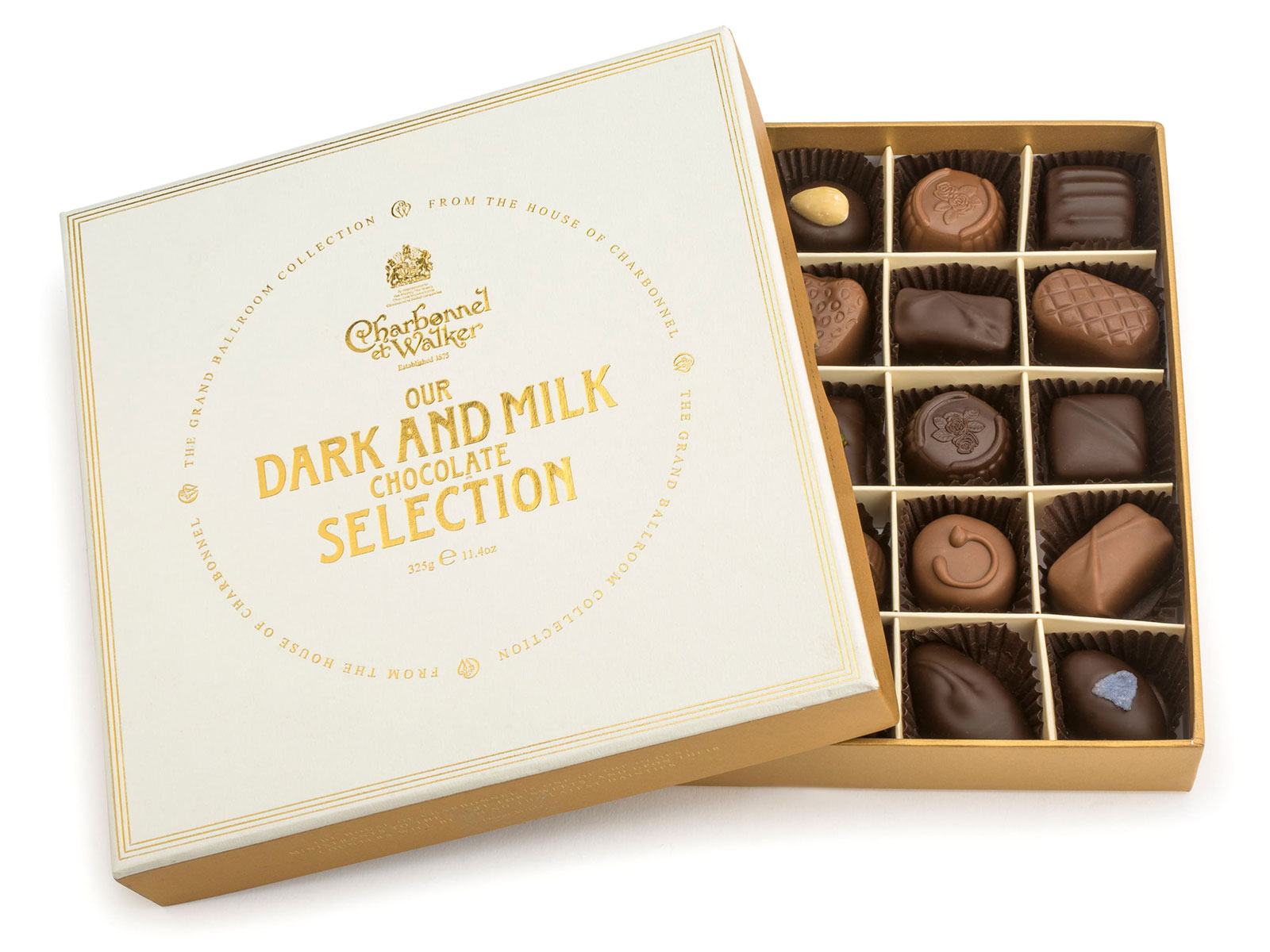 dark and milk chocolates