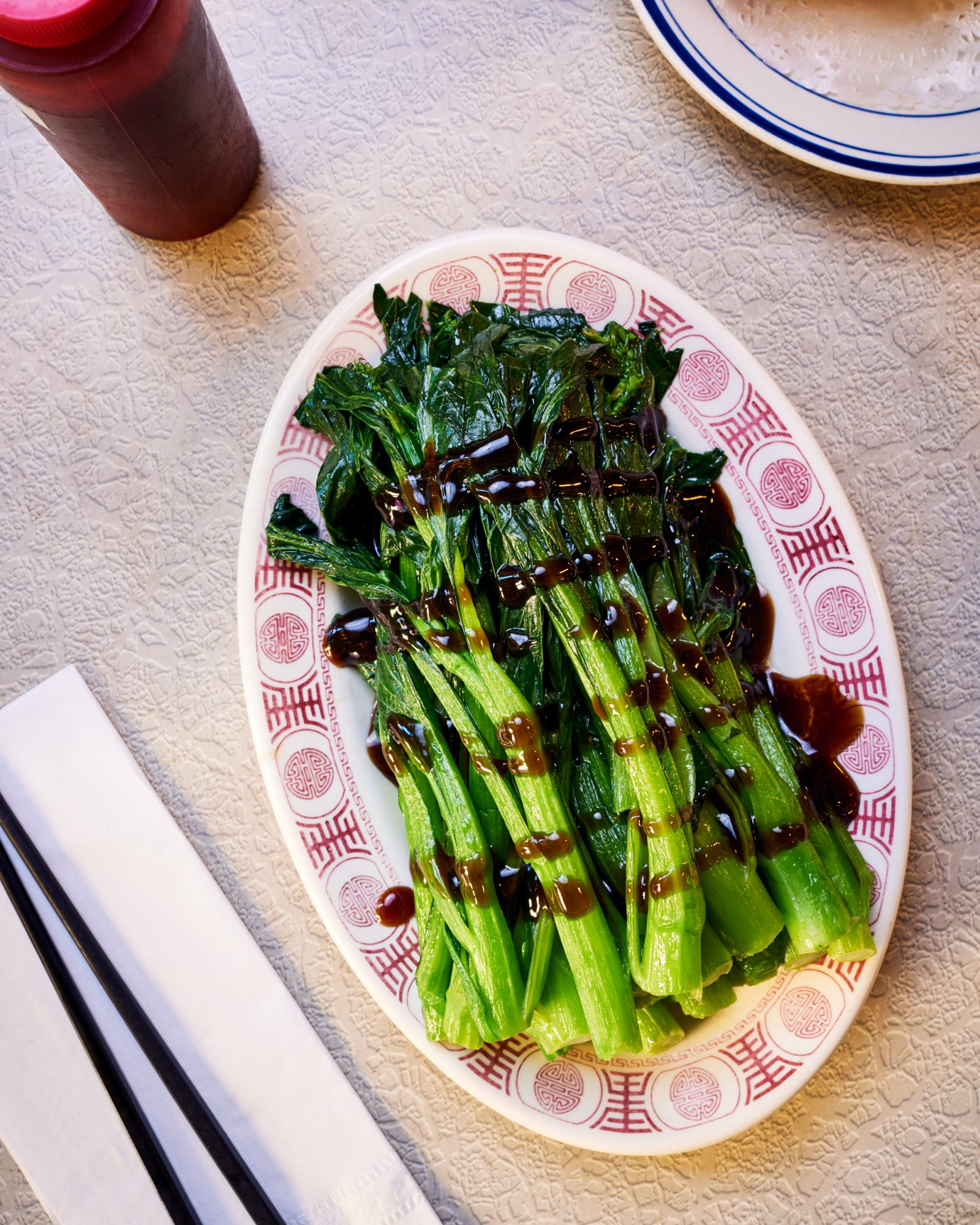 Chinatown USA Greens with Oyster Sauce