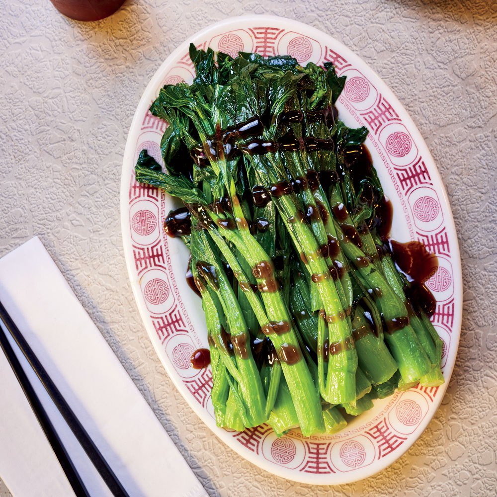 Chinese Greens with Oyseter Sauce