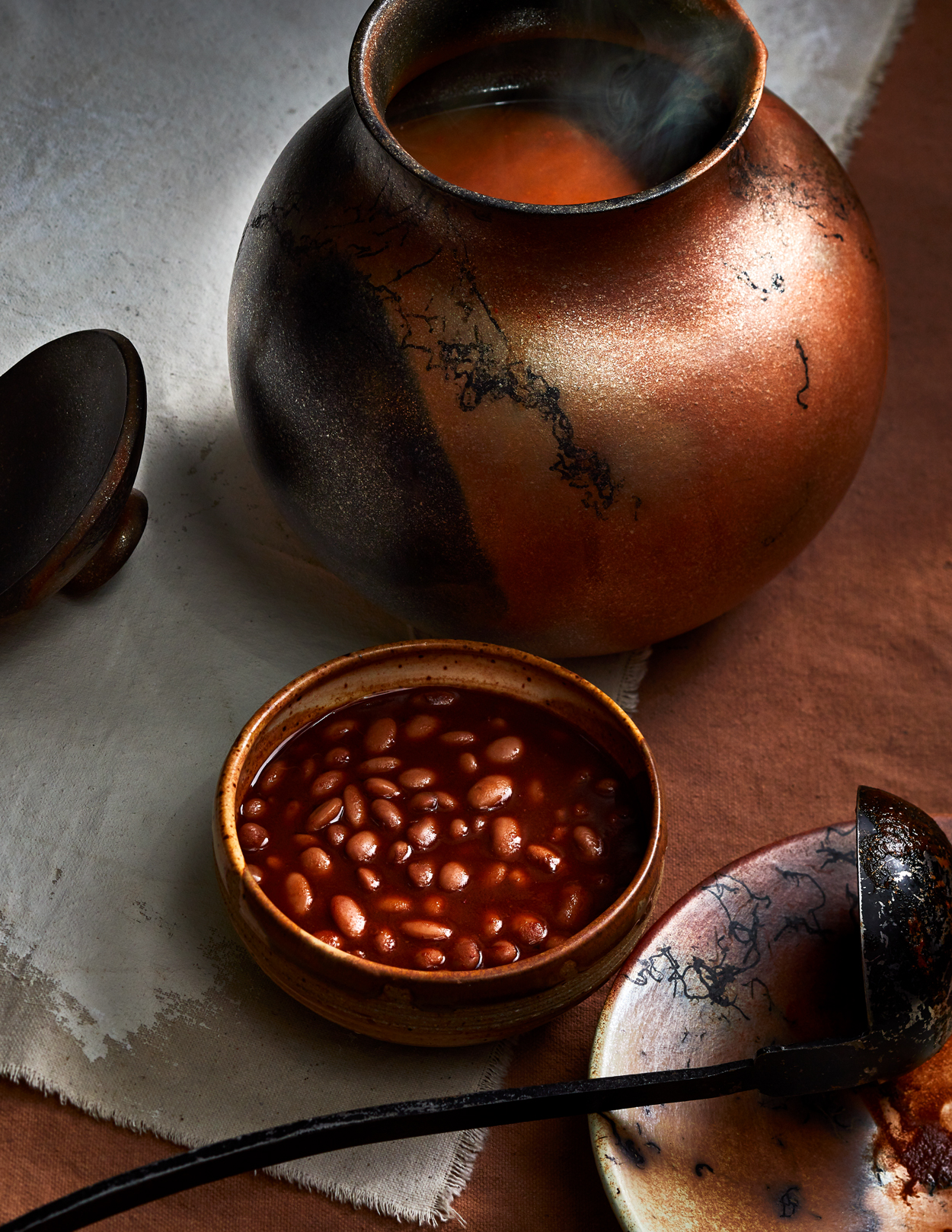 Clay Pot Red Chile Beans Recipe