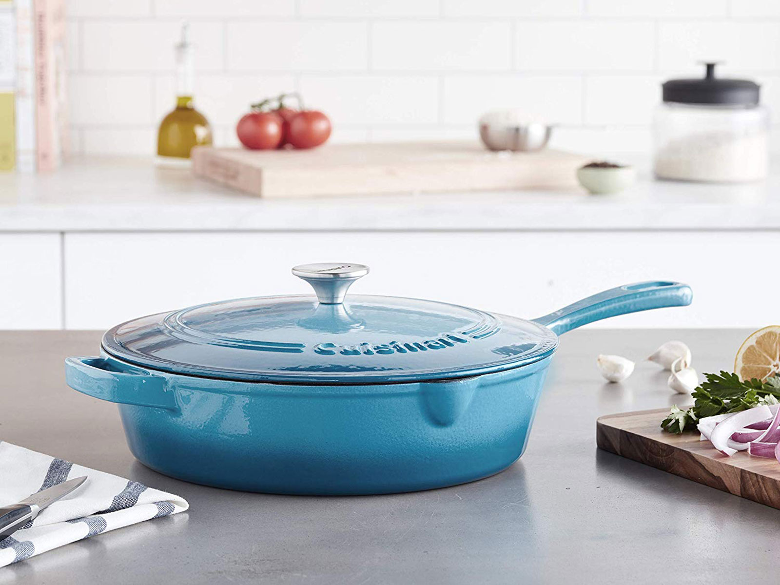 Cast Iron Cuisinart Cookware Is Up to 46% Off on Amazon Right Now