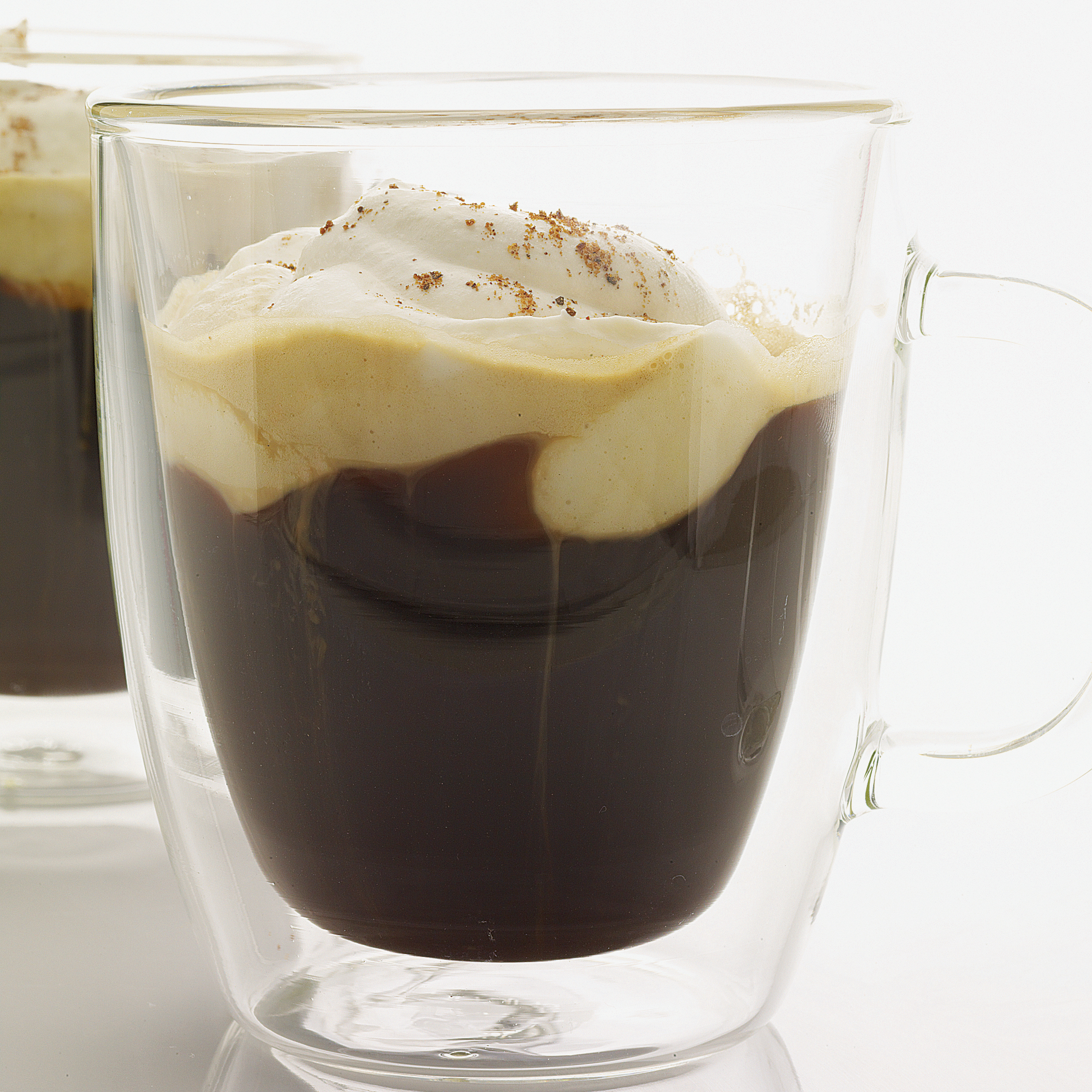 """Warming cocktails on your mind? Bartender Steve Peters dreamed up Caffè di Alpi (""""Alpine Coffee"""" in Italian) as a deliciously warming après-ski drink."""