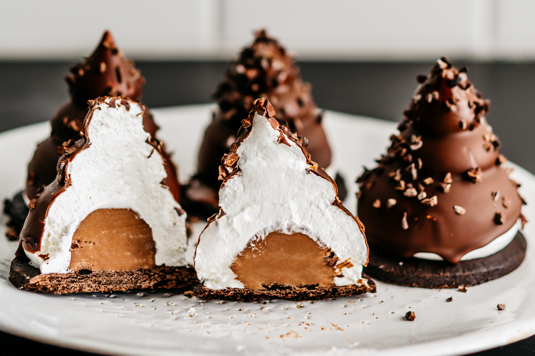 Gluten-Free Triple Chocolate Coconut Krembos Recipe