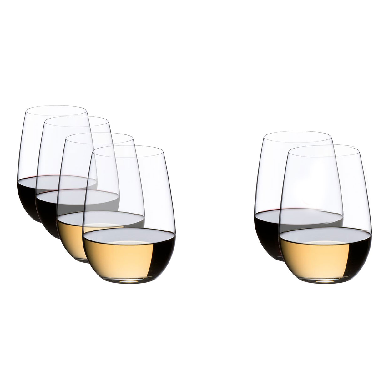Riedel O Set of 6 Riesling/Sauvignon Blanc Wine Tumblers