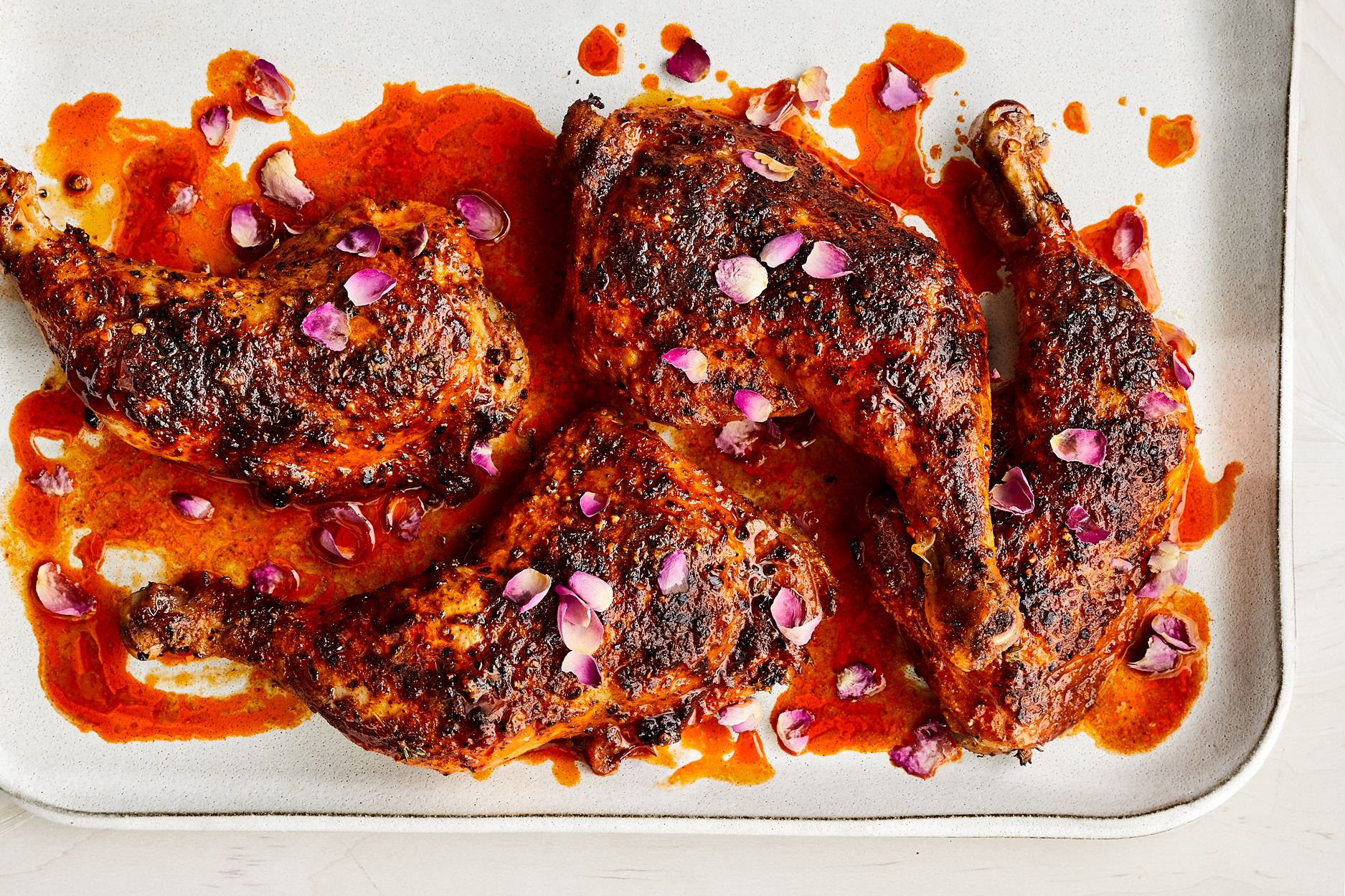 Rosy Harissa Chicken Recipe