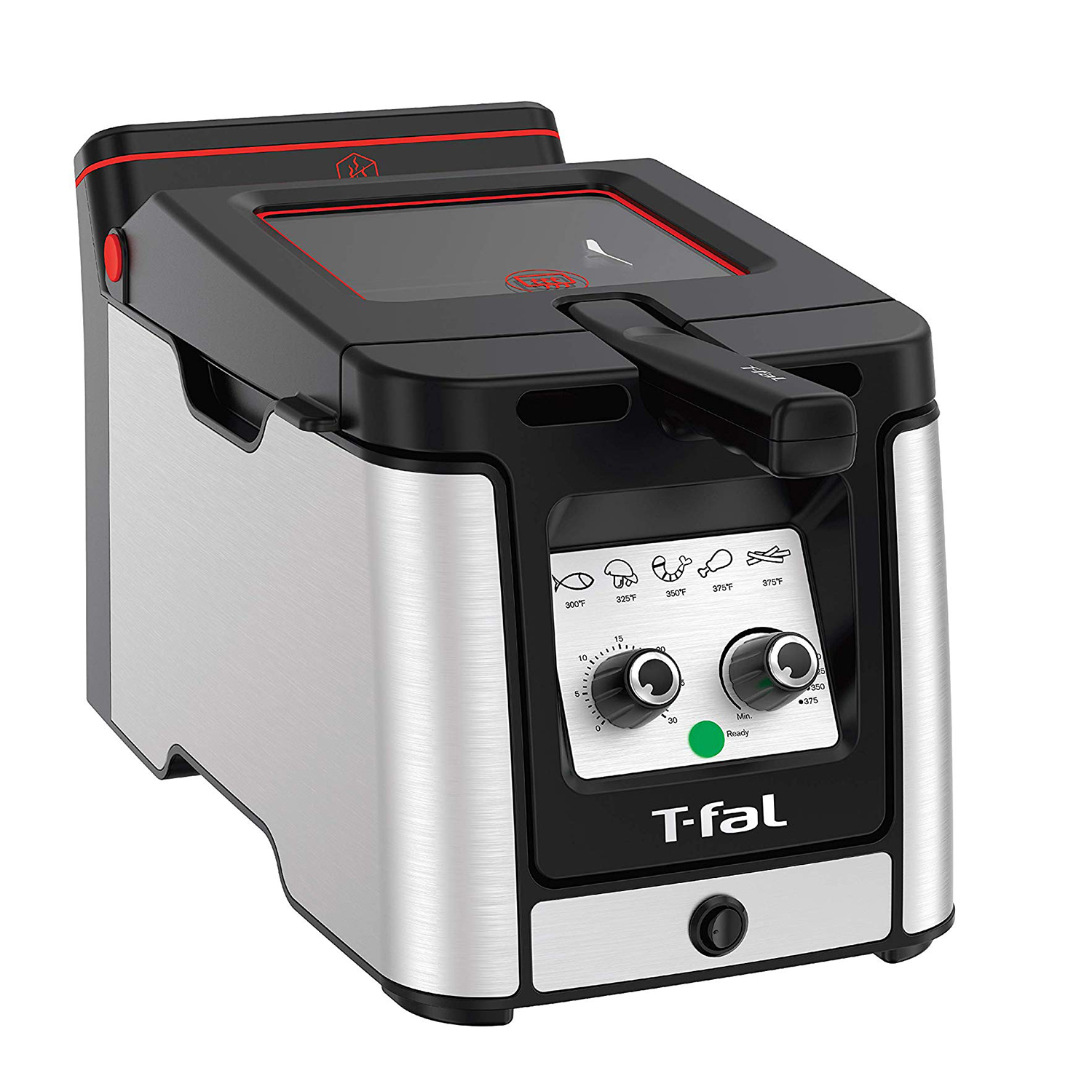 T-fal FR600D51 Odorless Stainless Steel lean Deep Fryer