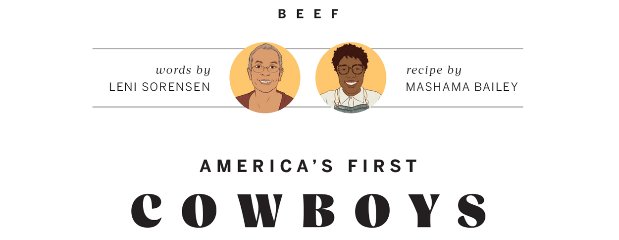 America's First Cowboys | Leni Sorensen and Mashama Bailey