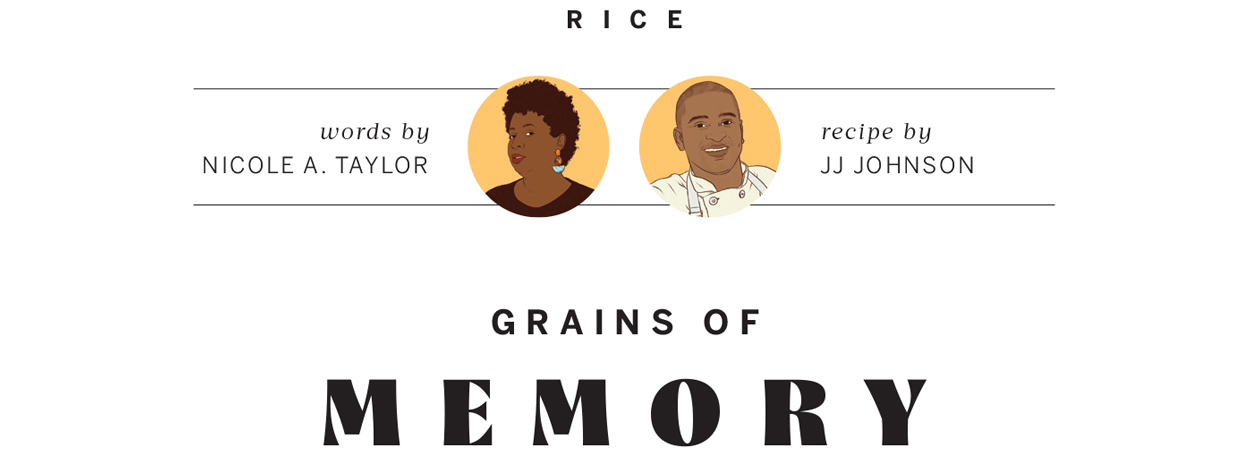 Rice | Nicole A. Taylor and JJ Johnson