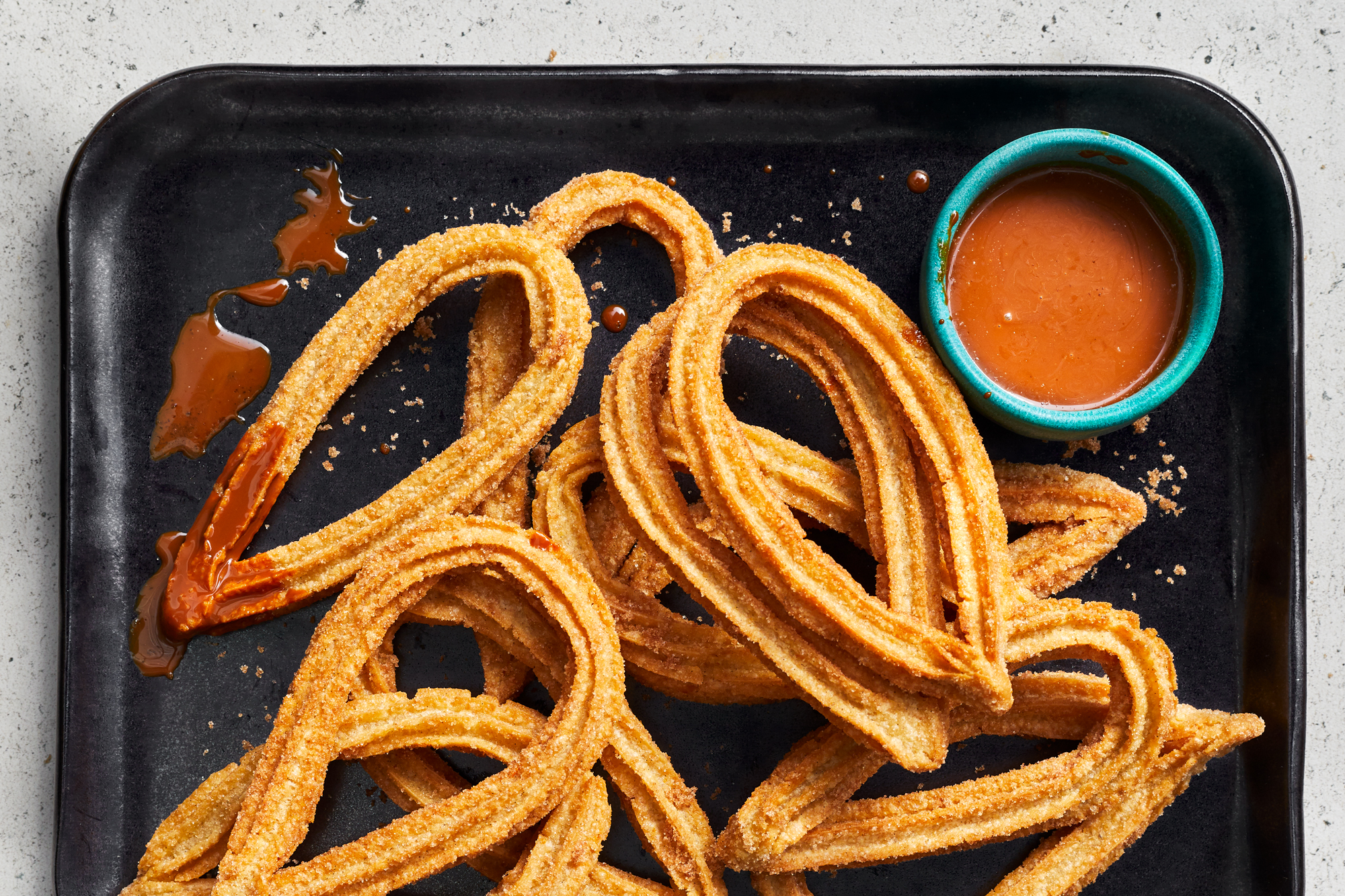 Cinnamon-Sugar Churros with Cajeta