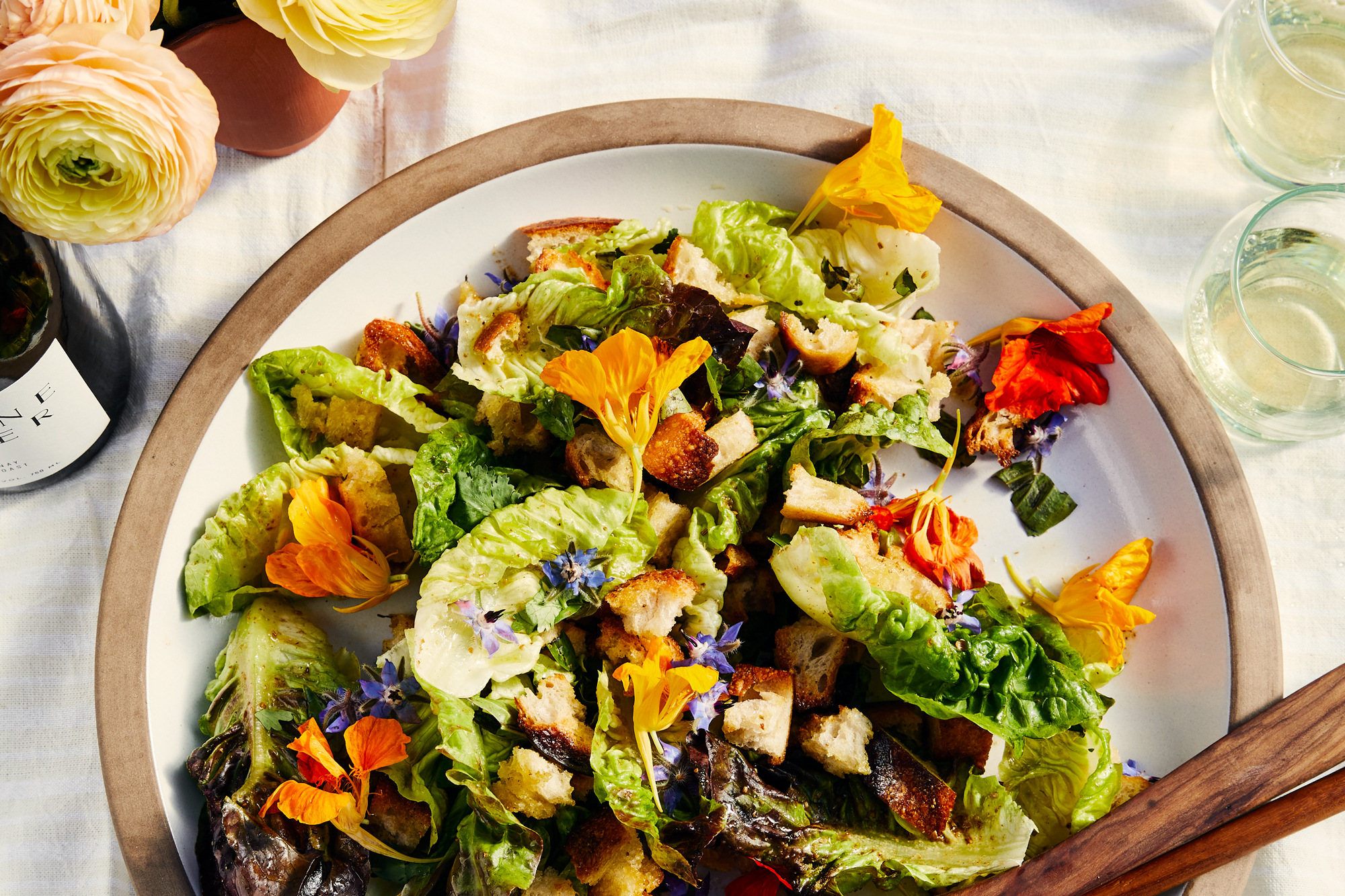 Little Gem Salad with Toasted Spice Vinaigrette Recipe