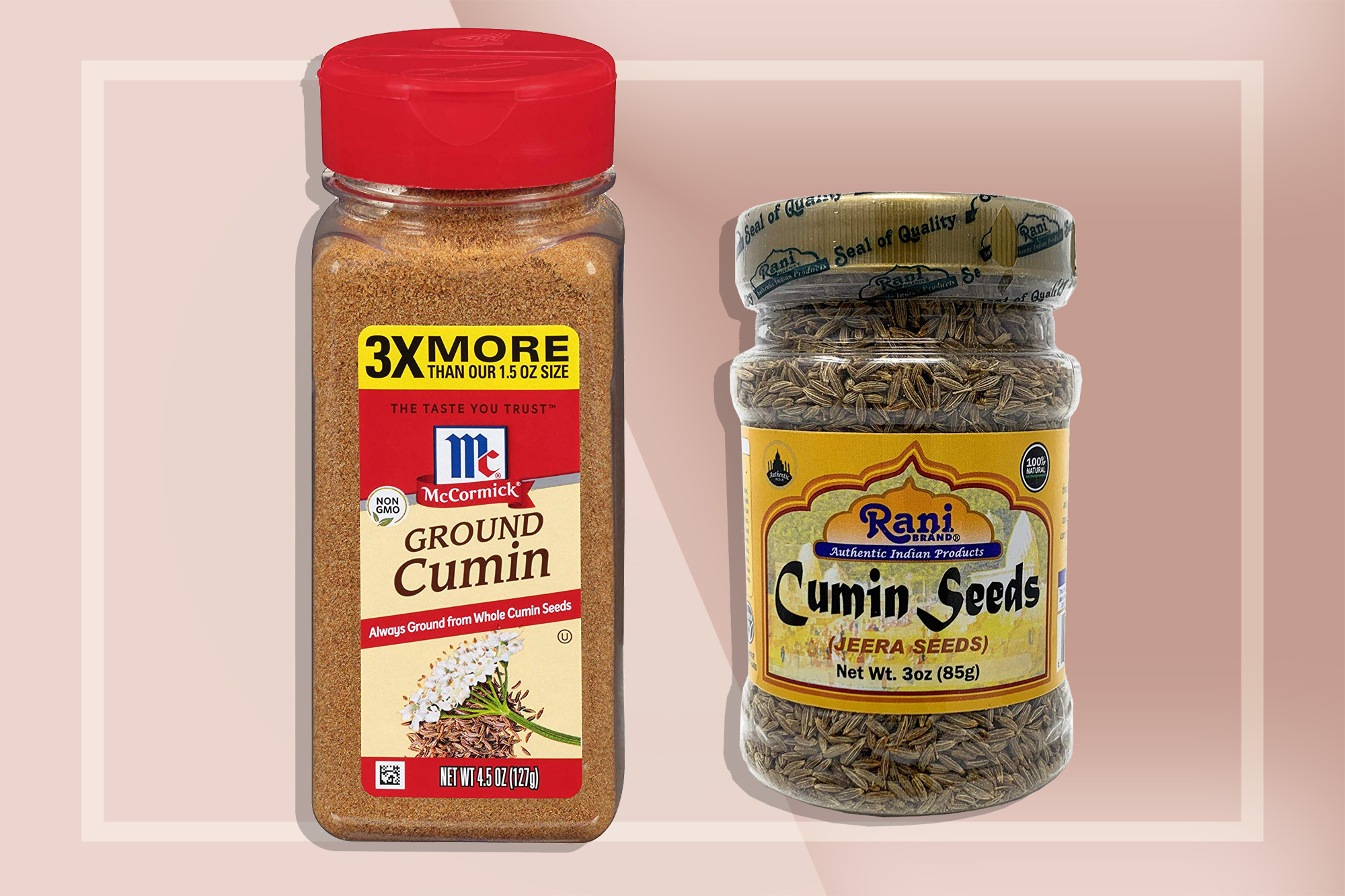 Essential Kitchen Spices | Whole and Ground Cumin
