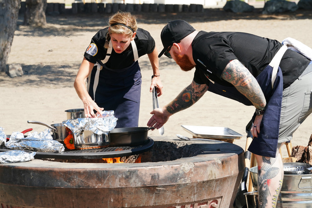 top chef season 17 episode 1 fire pit