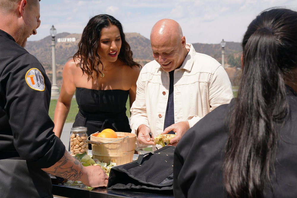 top chef season 17 episode 1 quickfire inspection tom and padma