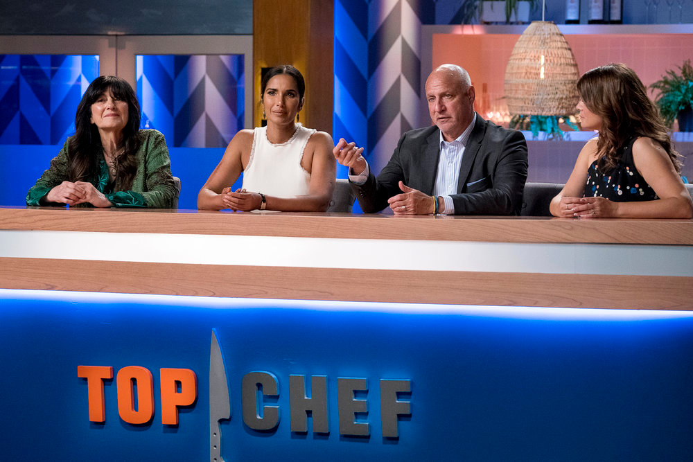 Guest judge Ruth Reichl on Top Chef season 17