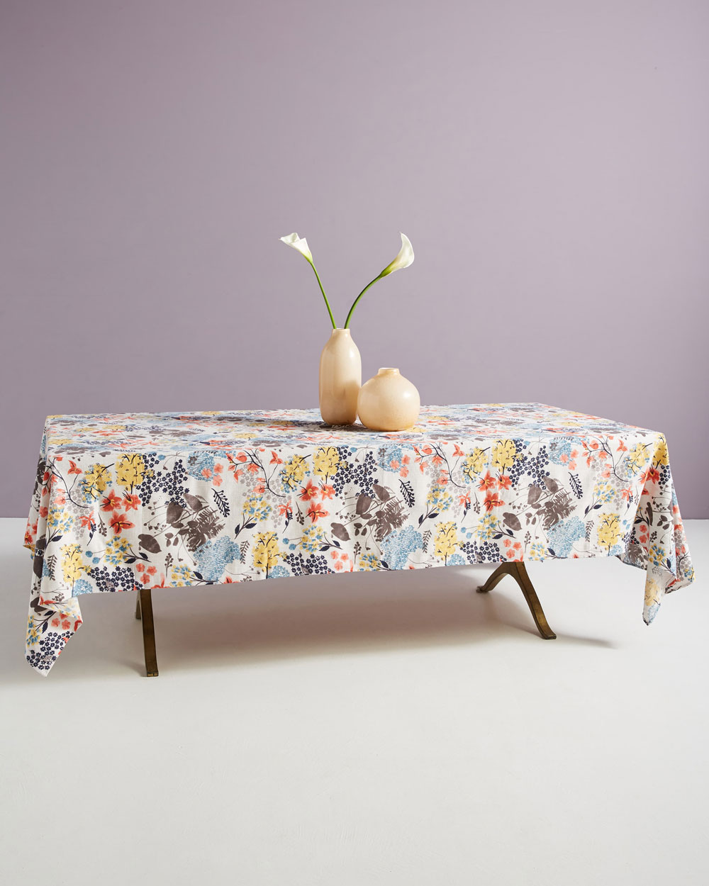 anthropology home tablecloth floral
