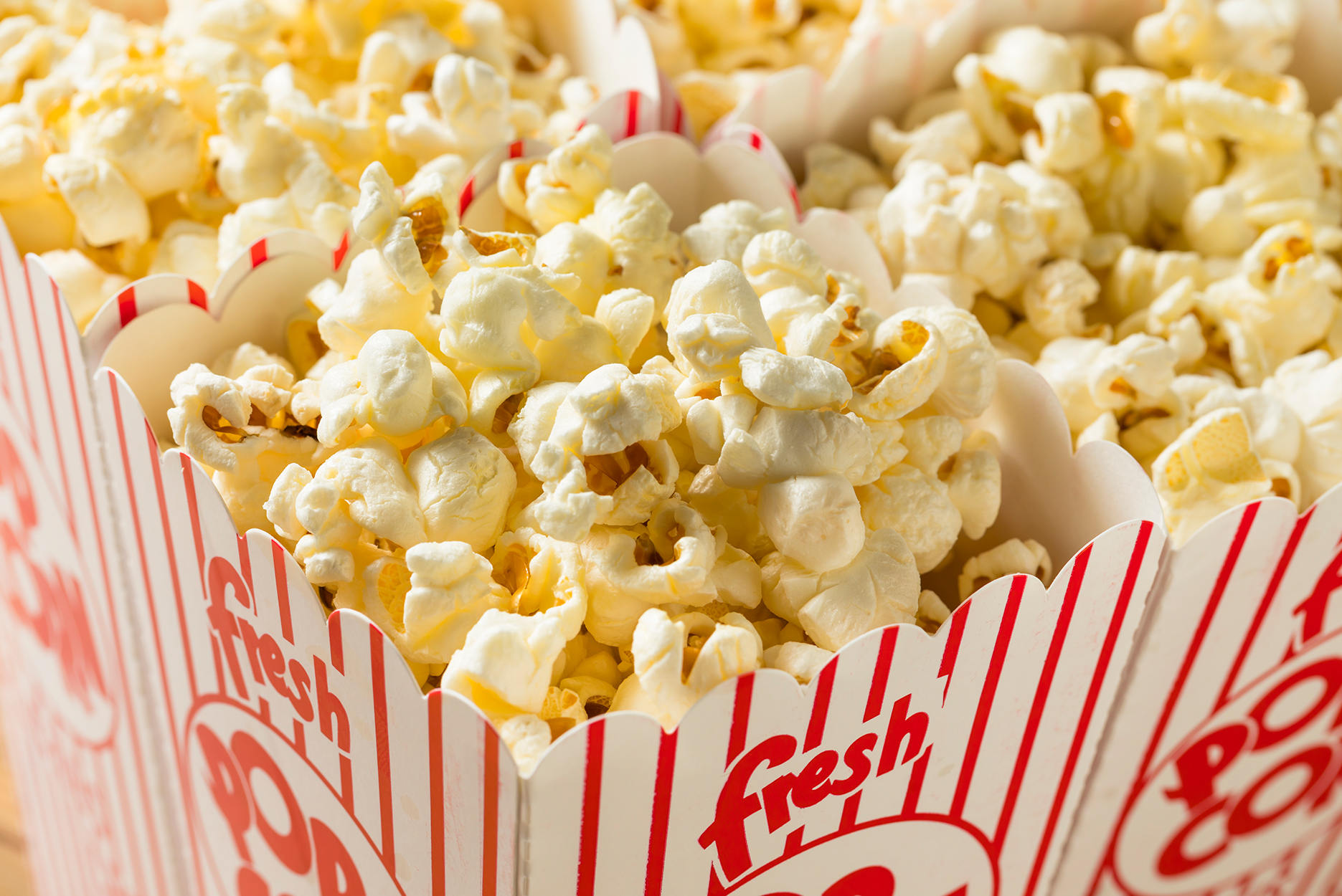 Movie Theaters Selling Popcorn and Snacks To-Go