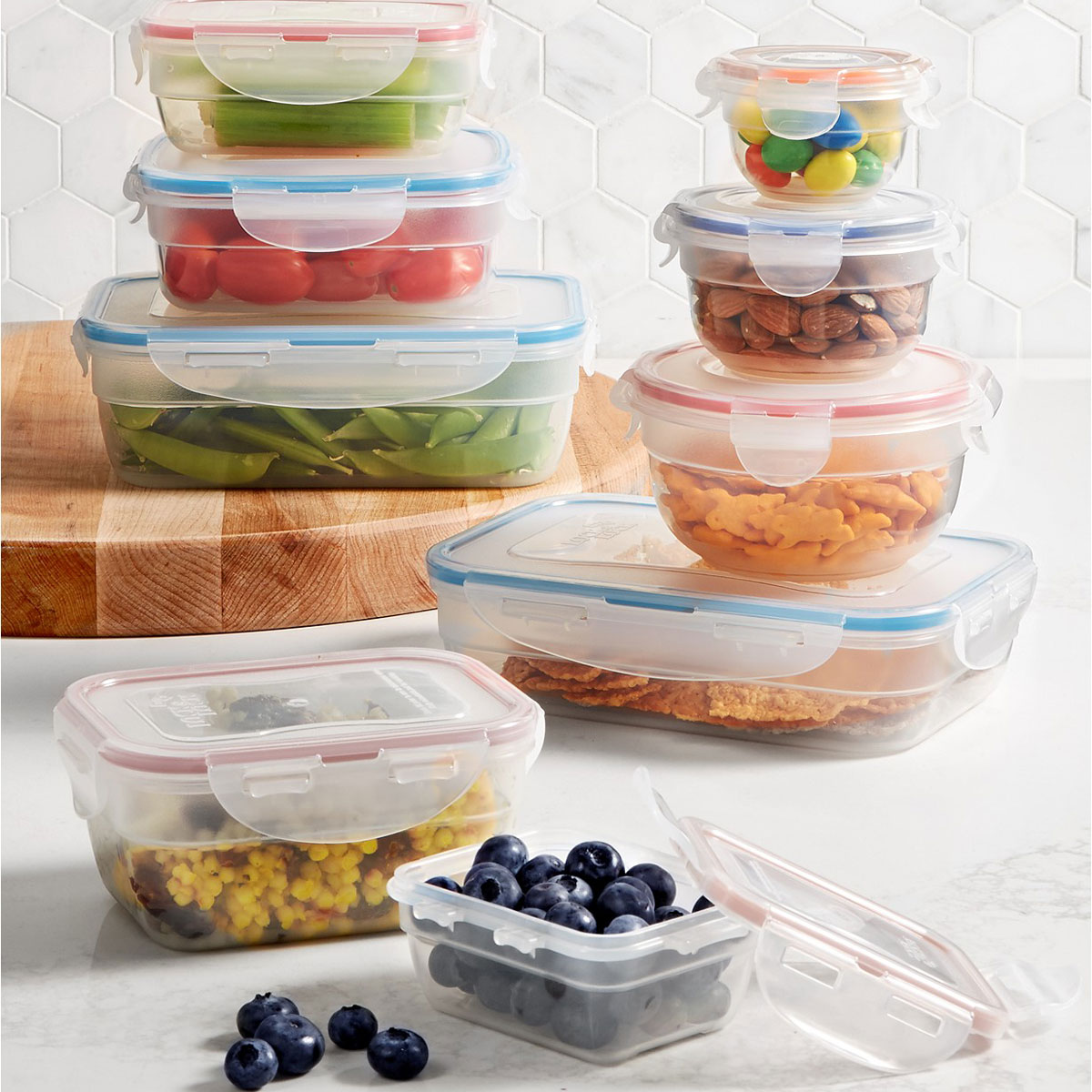 Lock n Lock storage containers