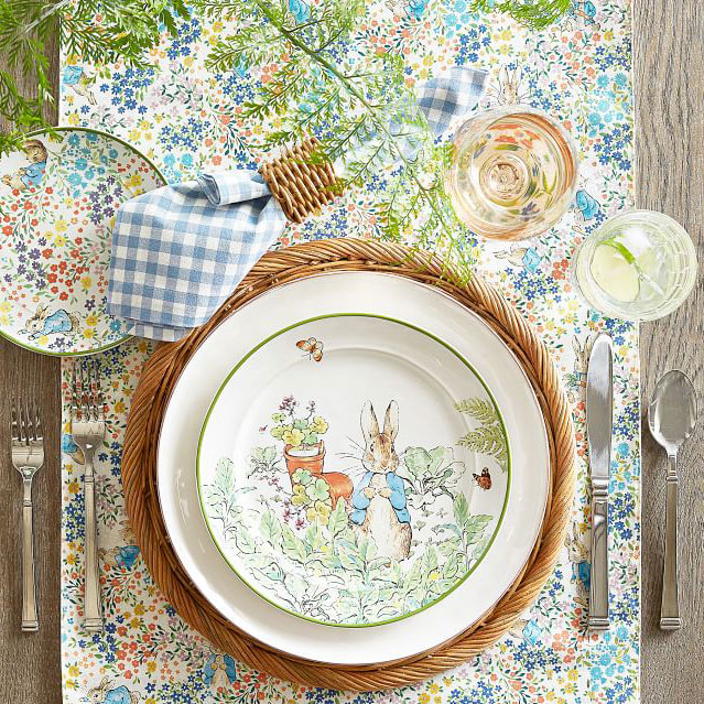 Peter Rabbit Tableware collection Easter
