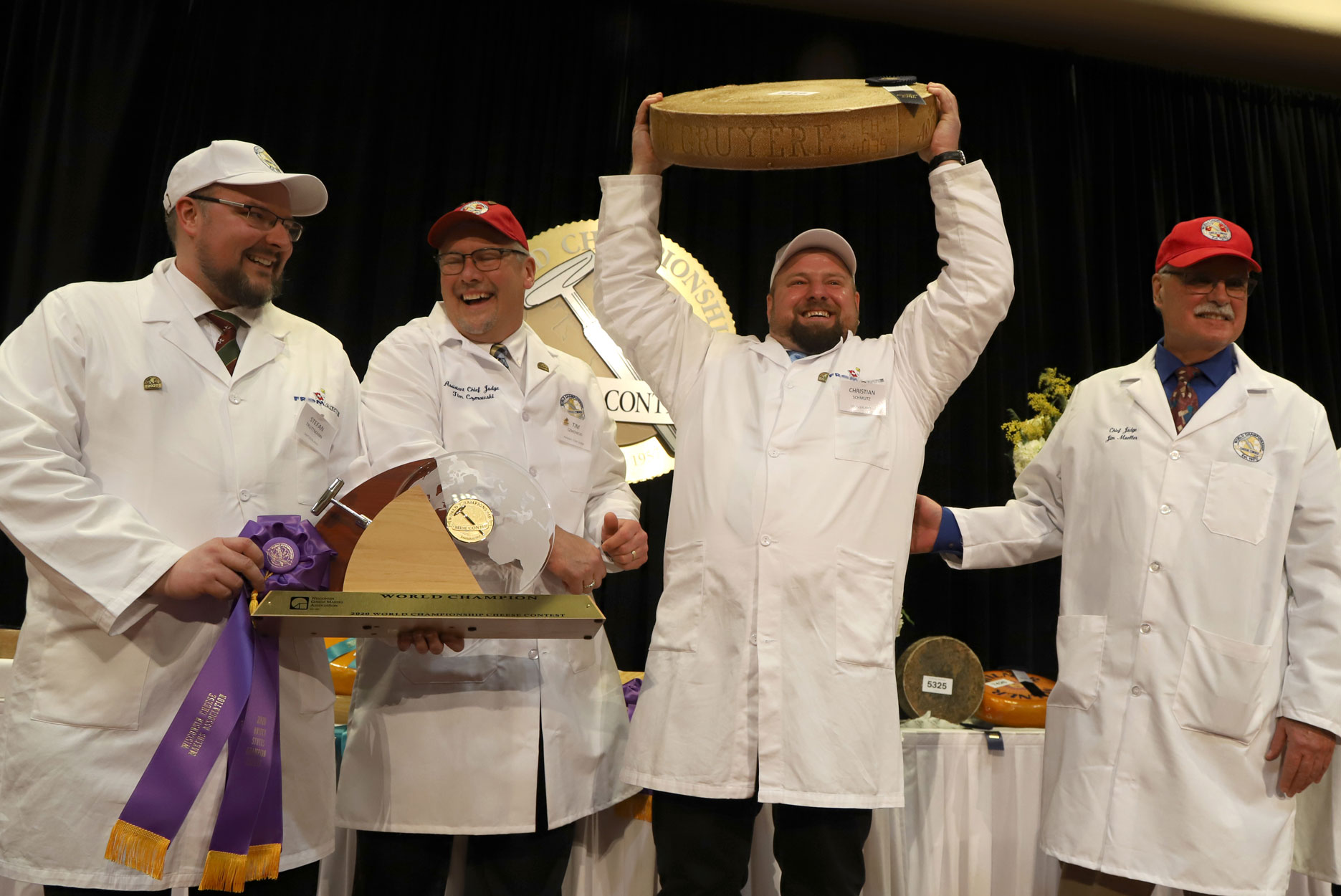 World Championship Cheese Contest Winner