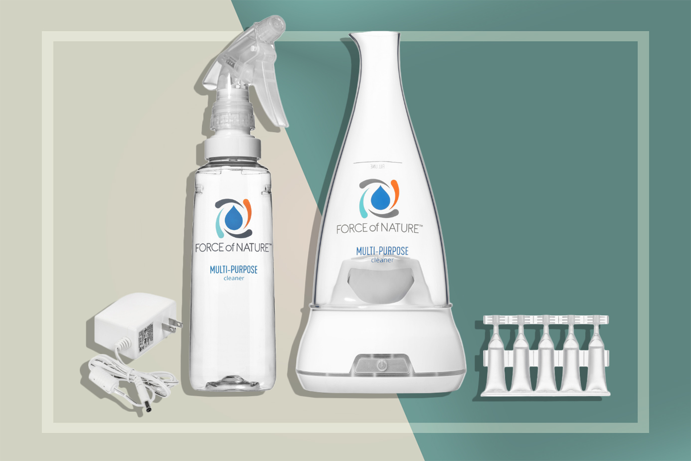 Cleaning Kit Make Non-Toxic Disinfectant At Home