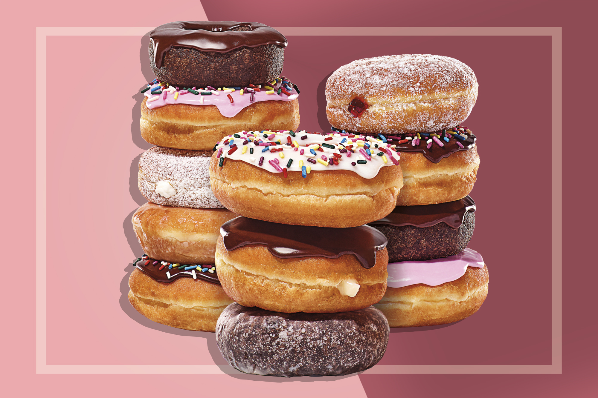 Dunkin Free Donuts All Month