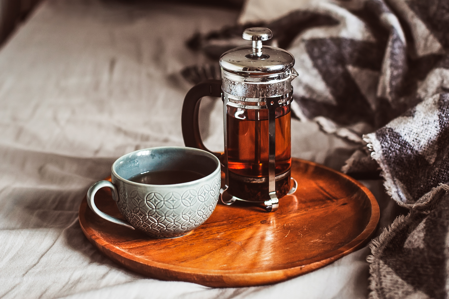 French Press Tea