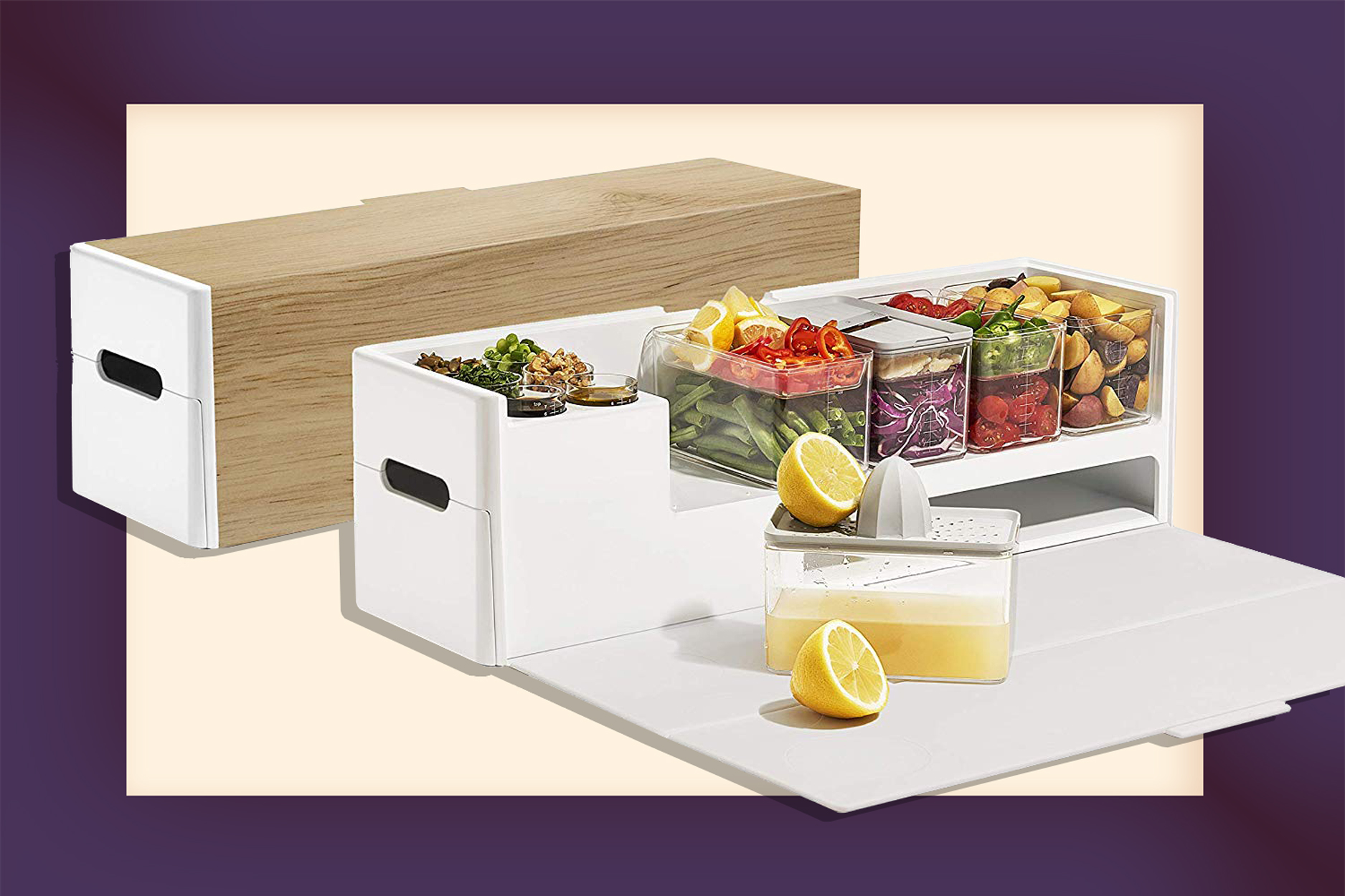 Functional Meal Prep Station Will Replace Half Your Kitchen
