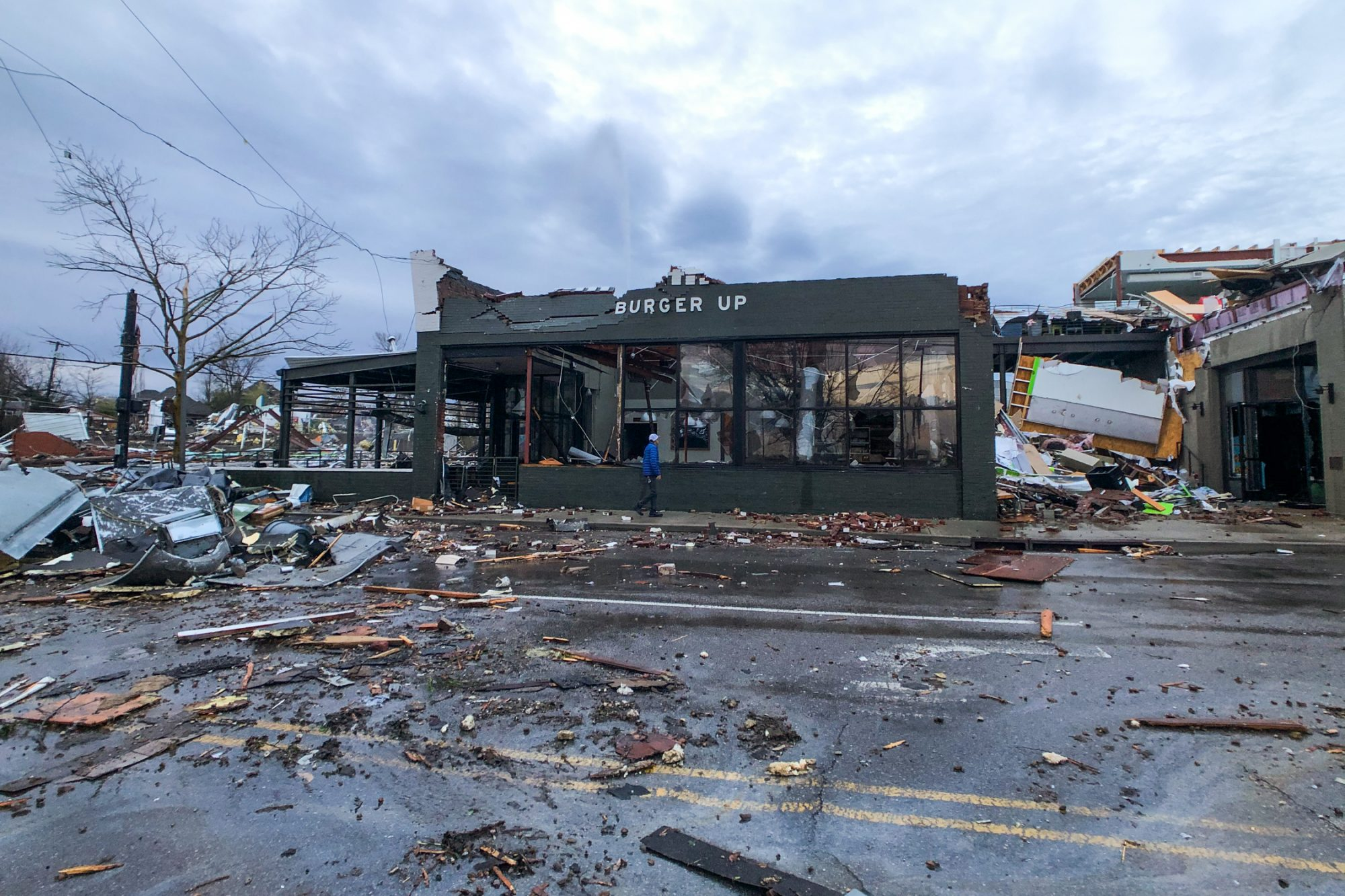 Nashville Tornado | Burger Up