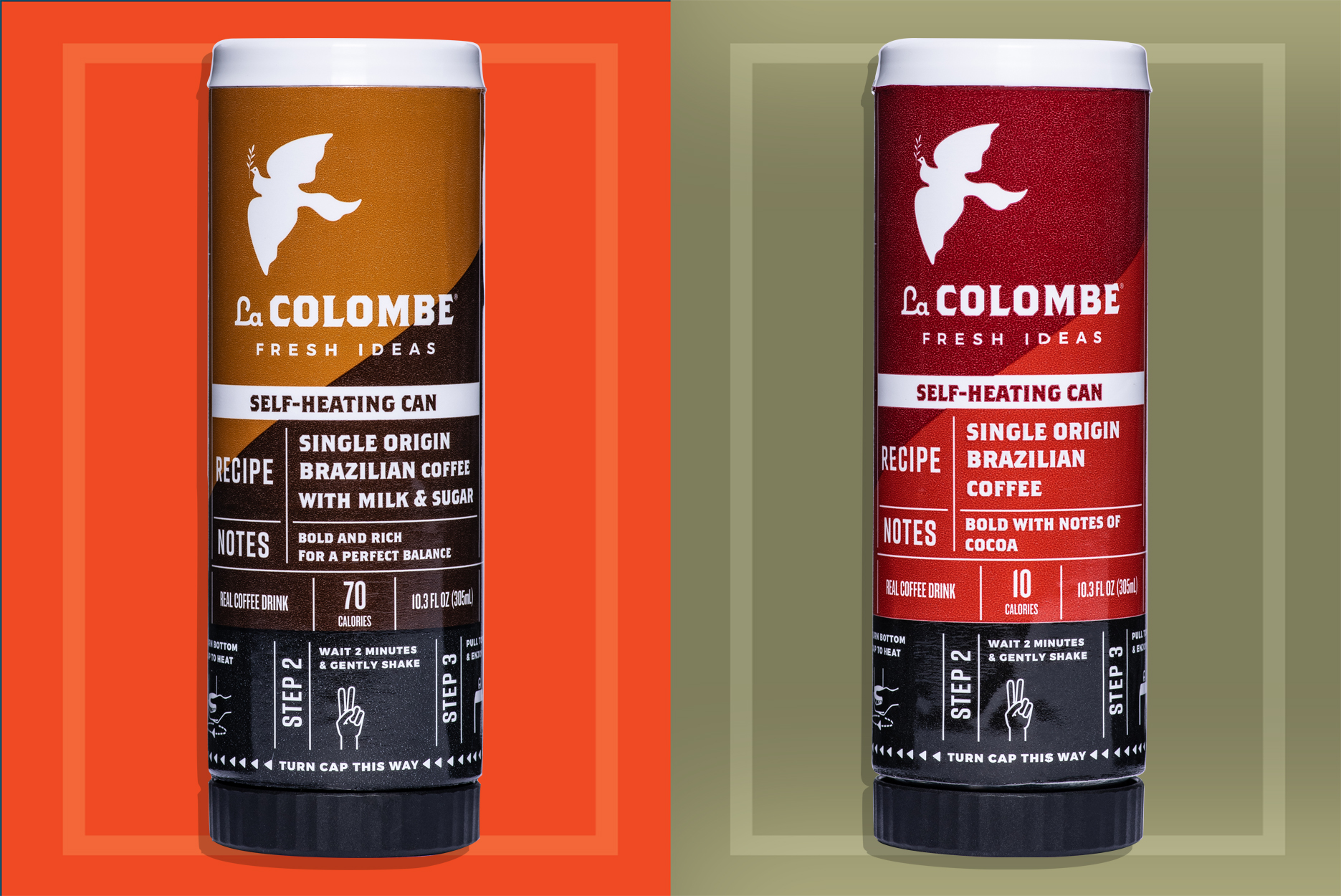 Self-Heating La Colombe