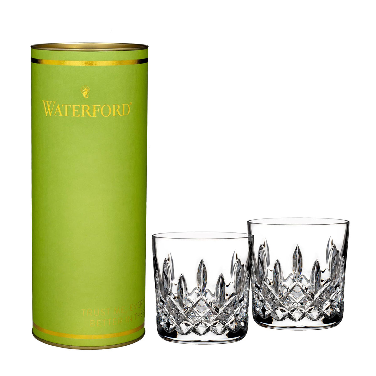 waterford old fashioned glass