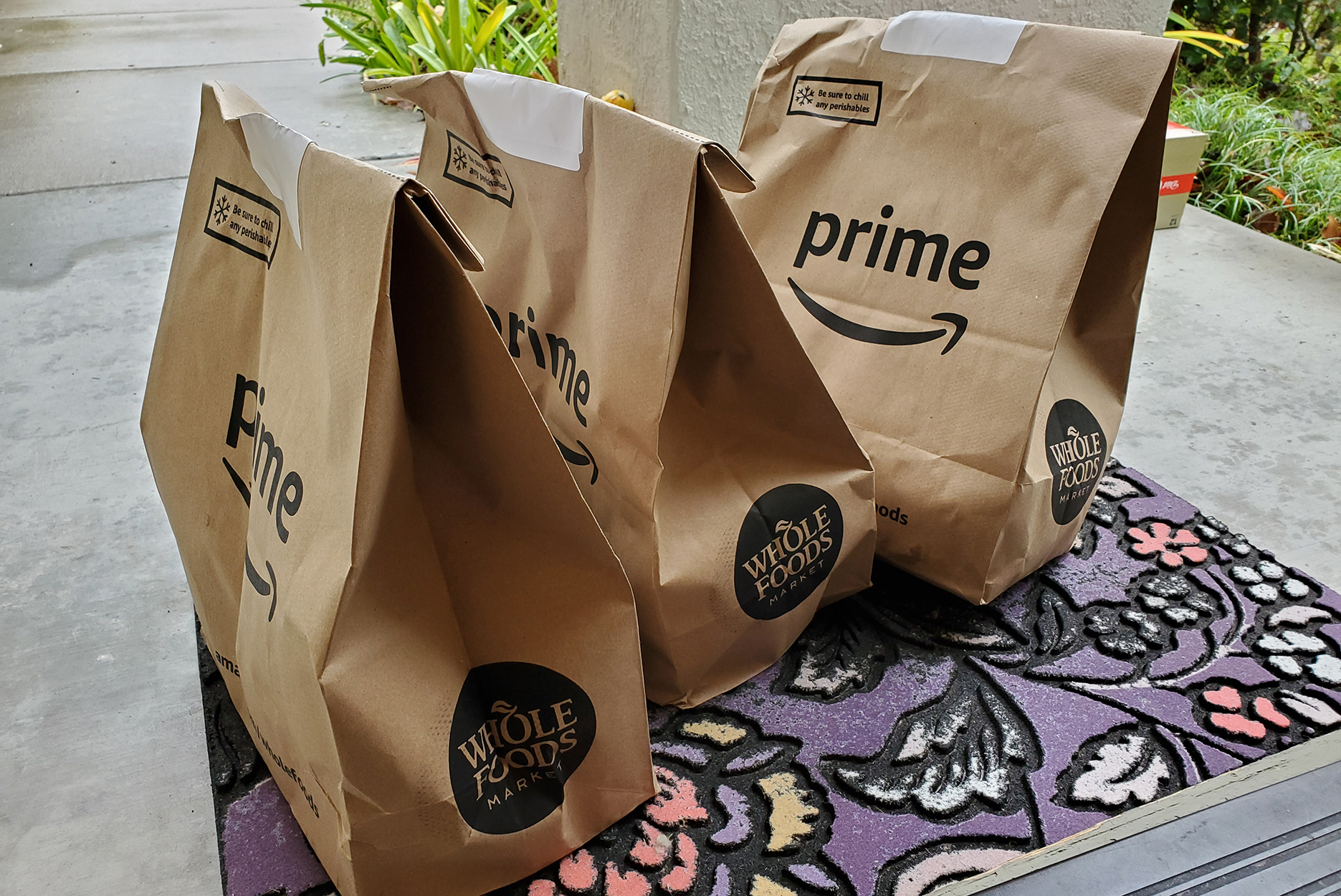 Amazon Prime Now grocery delivery