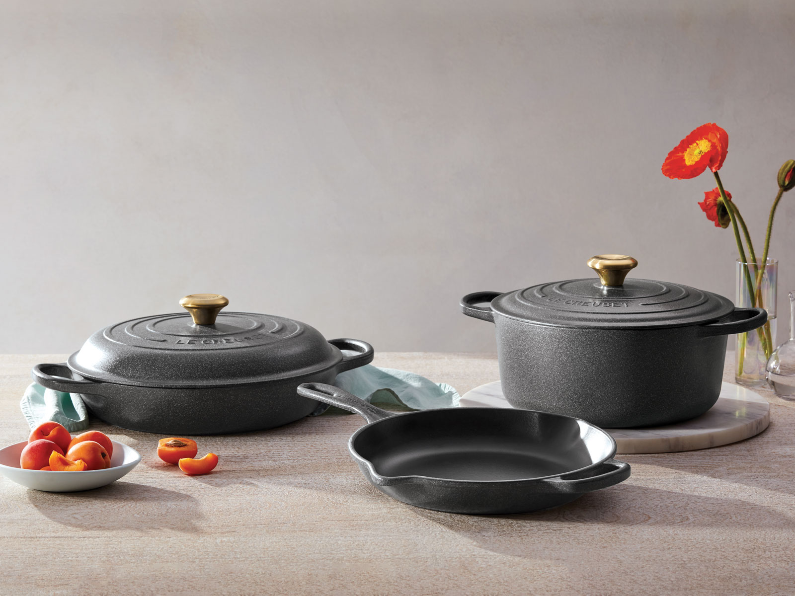 Le Creuset stone color