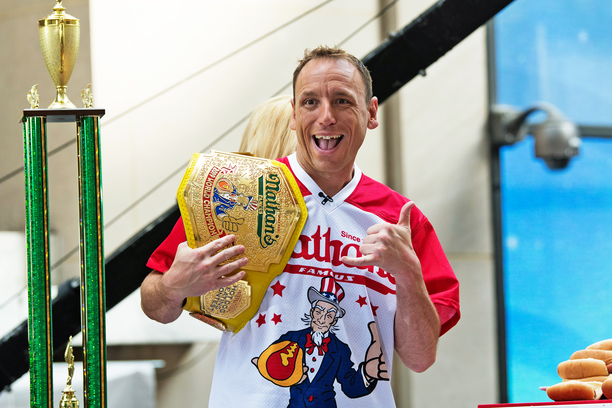 Joey Chestnut Training in Isolation