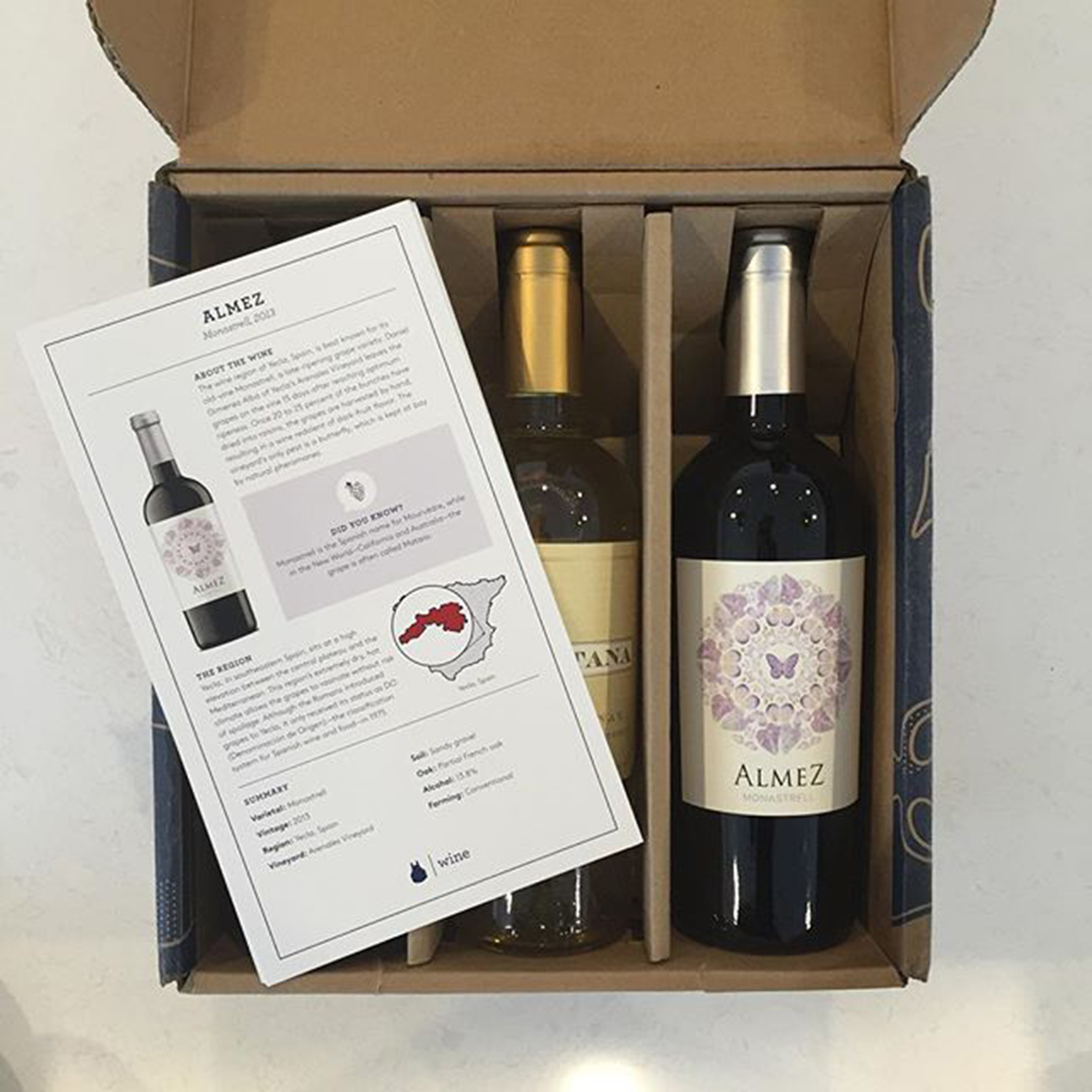 Incredible Wines Blue Apron