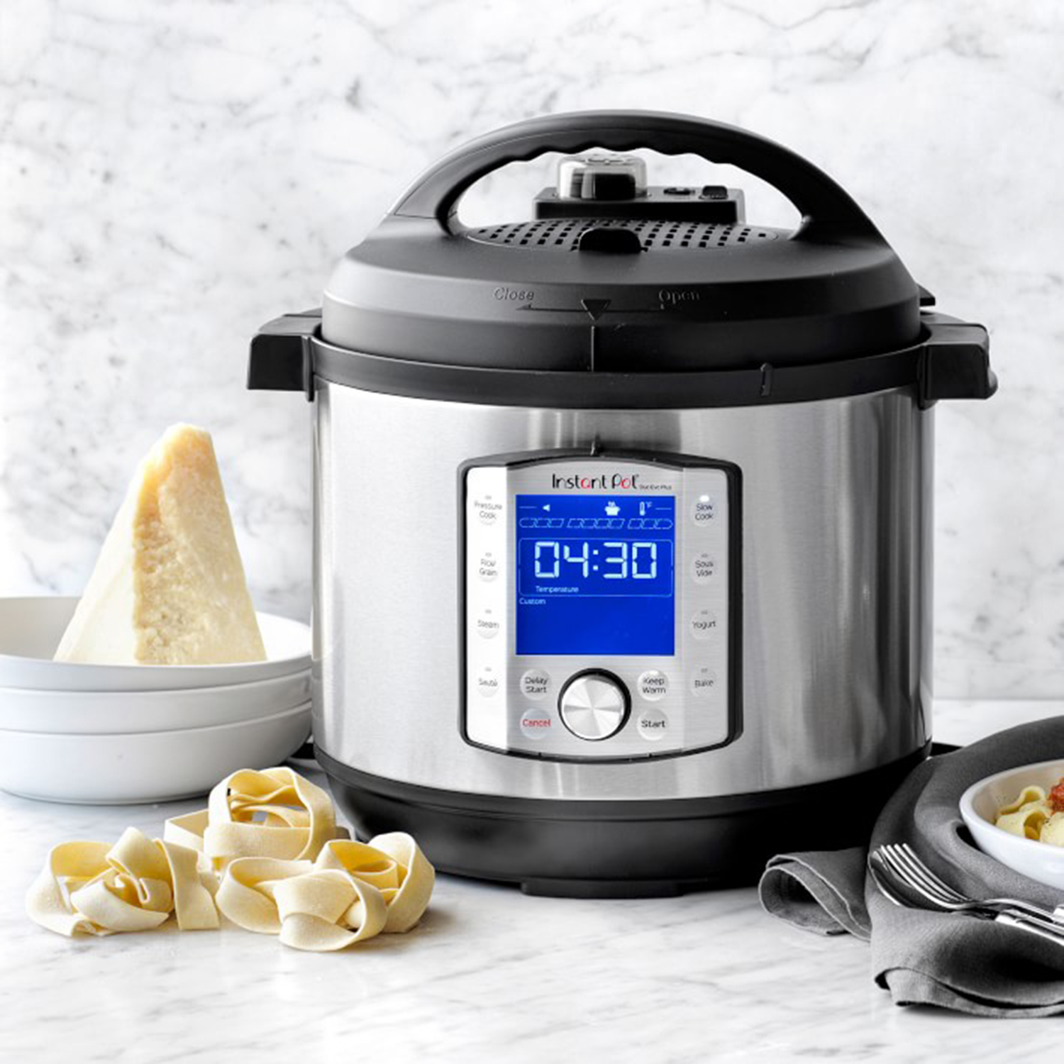 Instant Pot Duo Evo Plus Pressure Cooker, 8-Qt