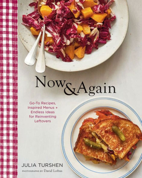 Julia turshen now and again cookbook