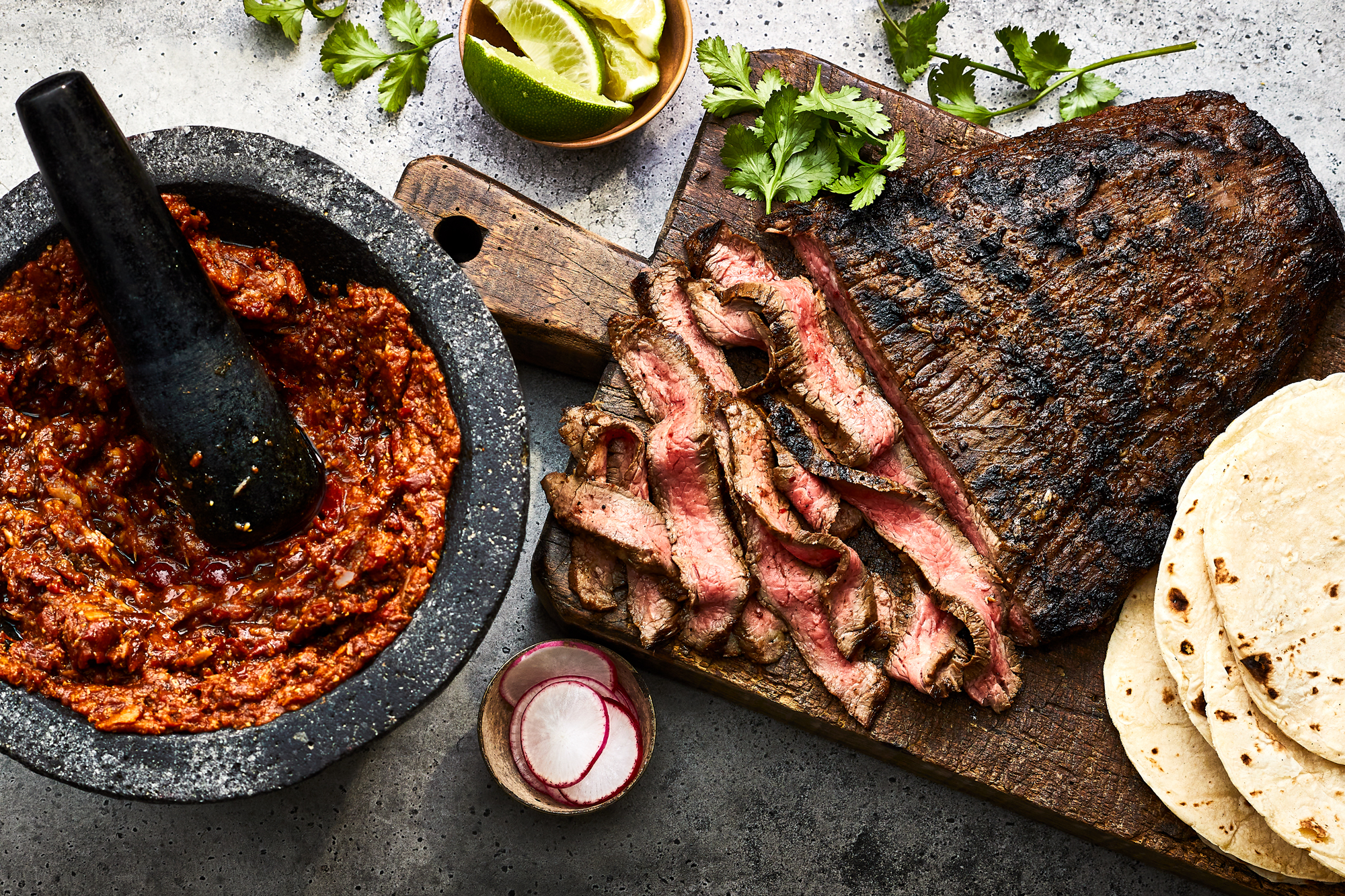 Smoky Pasilla and Citrus Grilled Flank Steak Recipe
