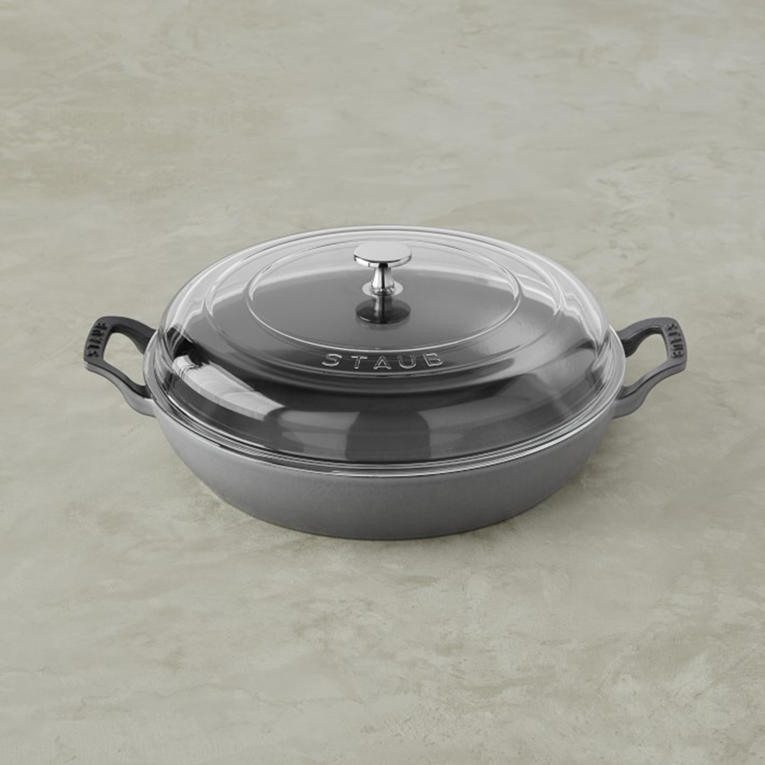 Staub Cast-Iron Everything Pan, 3 1/2-Qt., Dutch Oven