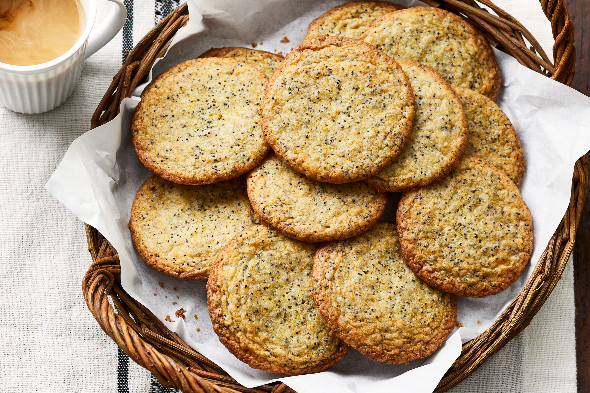 Cardamom Poppy Seed Cookies Recipe