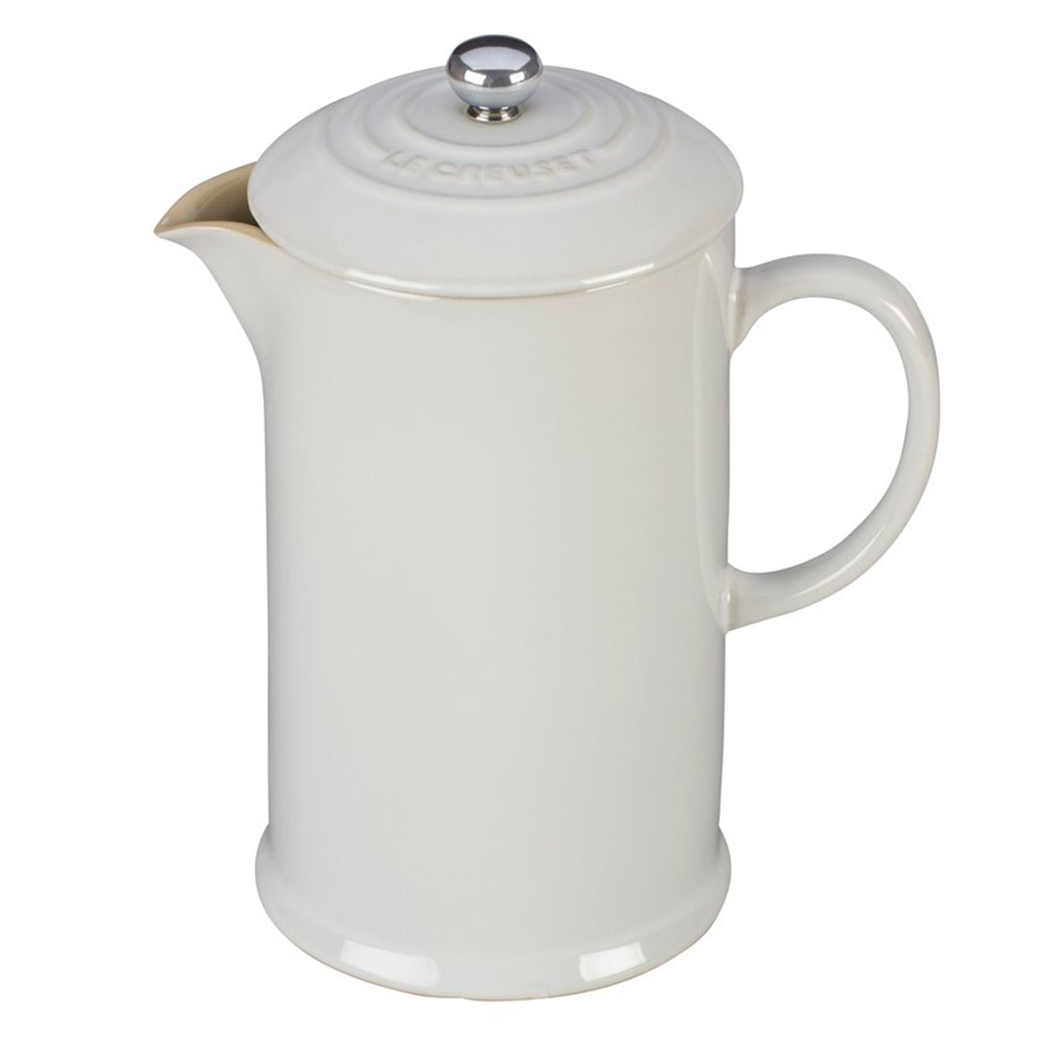 Le Creuset 3.37 Cup Stoneware French Press Coffee Maker