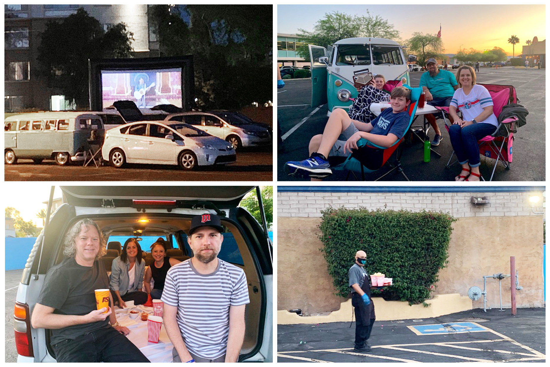 Restaurants Converting to Drive-In Theaters